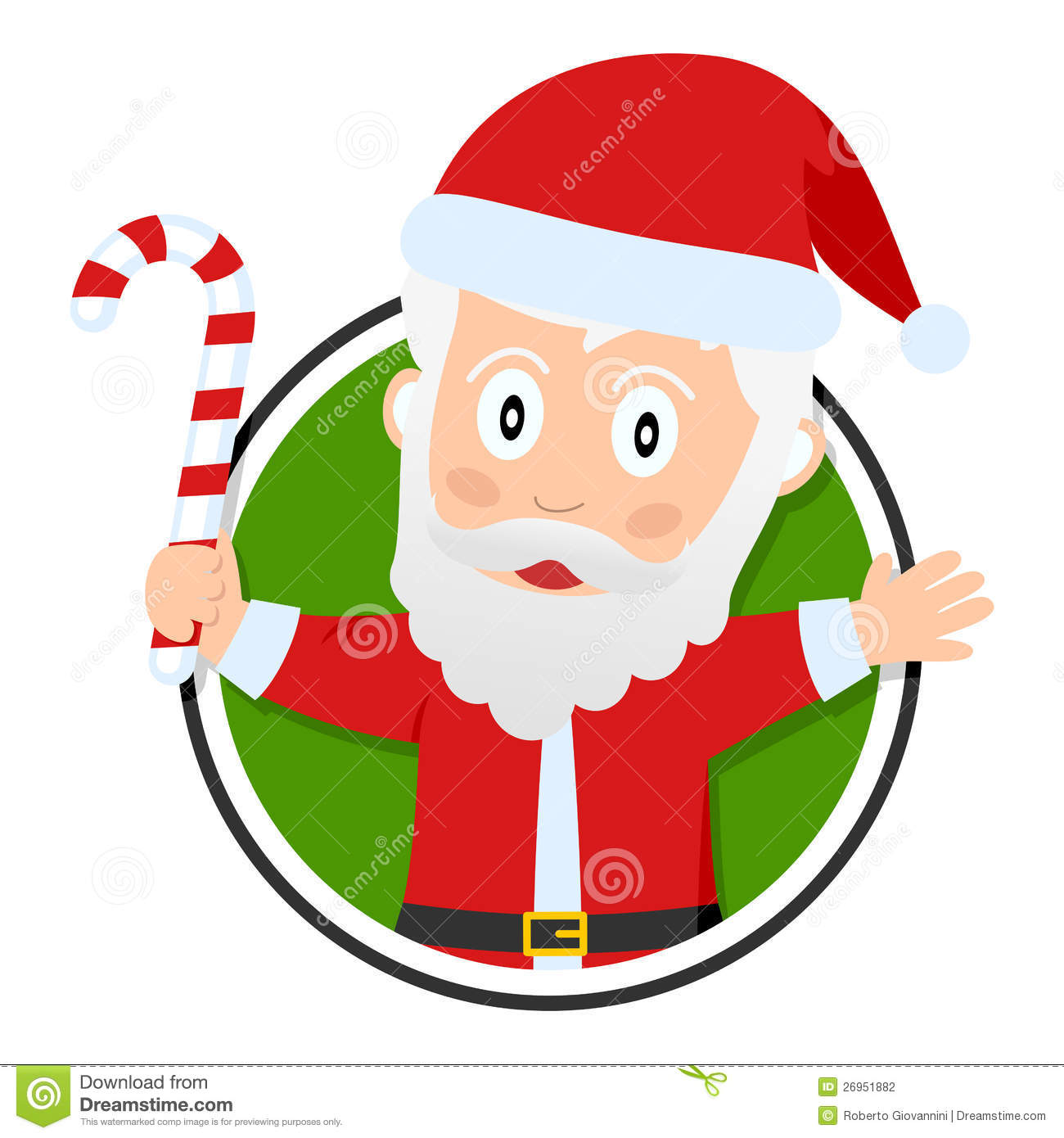 Christmas or Santa Claus Logo