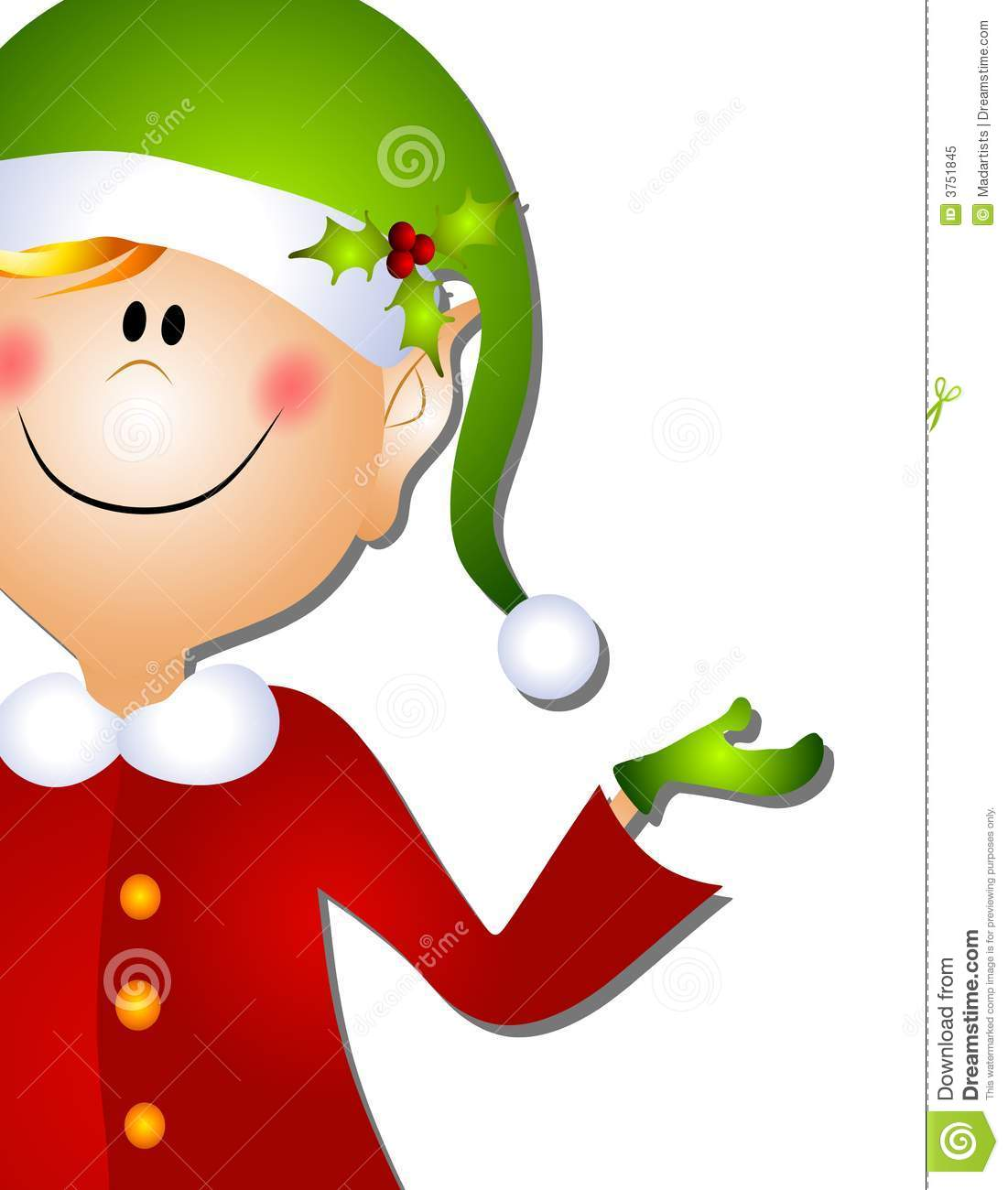 christmas santa elf clip art 3 stock illustration illustration of rh dreamstime com Silly Christmas Elves Clip Art free clipart christmas elf