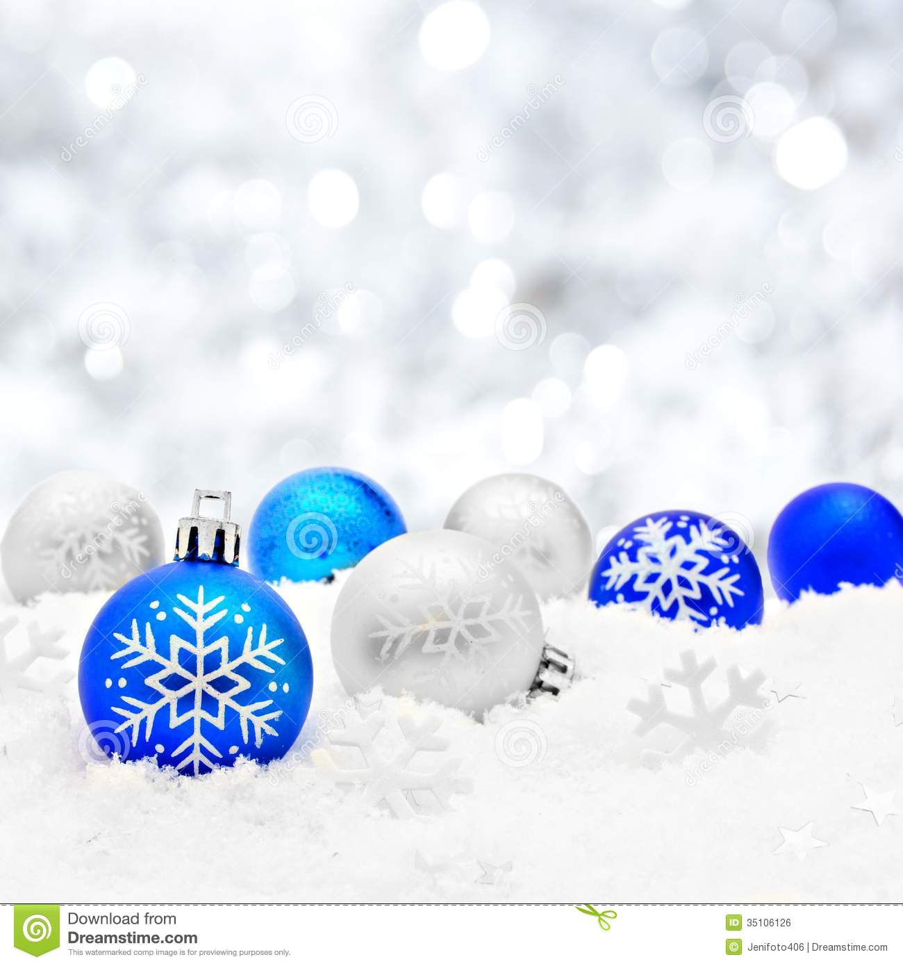 Christmas Scene Royalty Free Stock Image - Image: 35106126