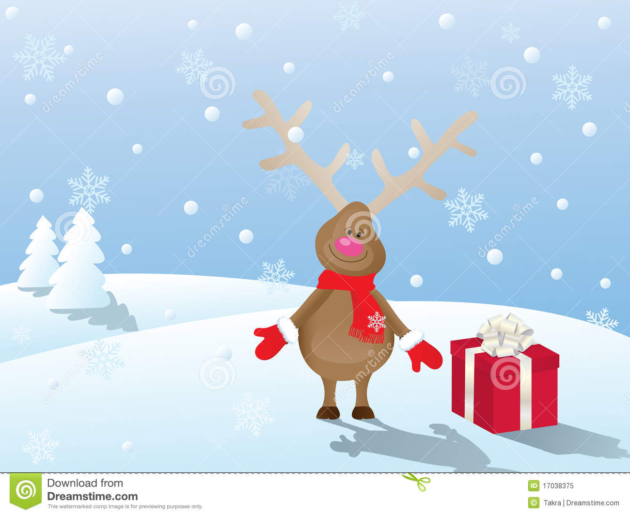 free christmas scene pictures