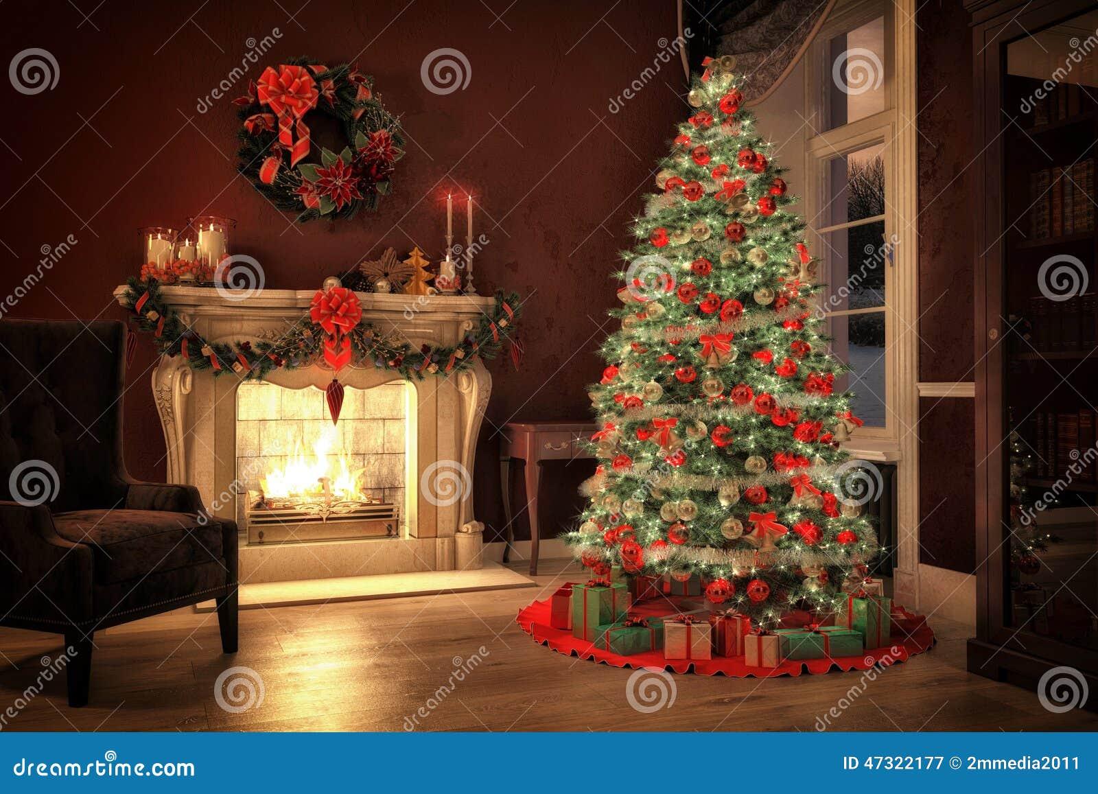 christmas tree fire time