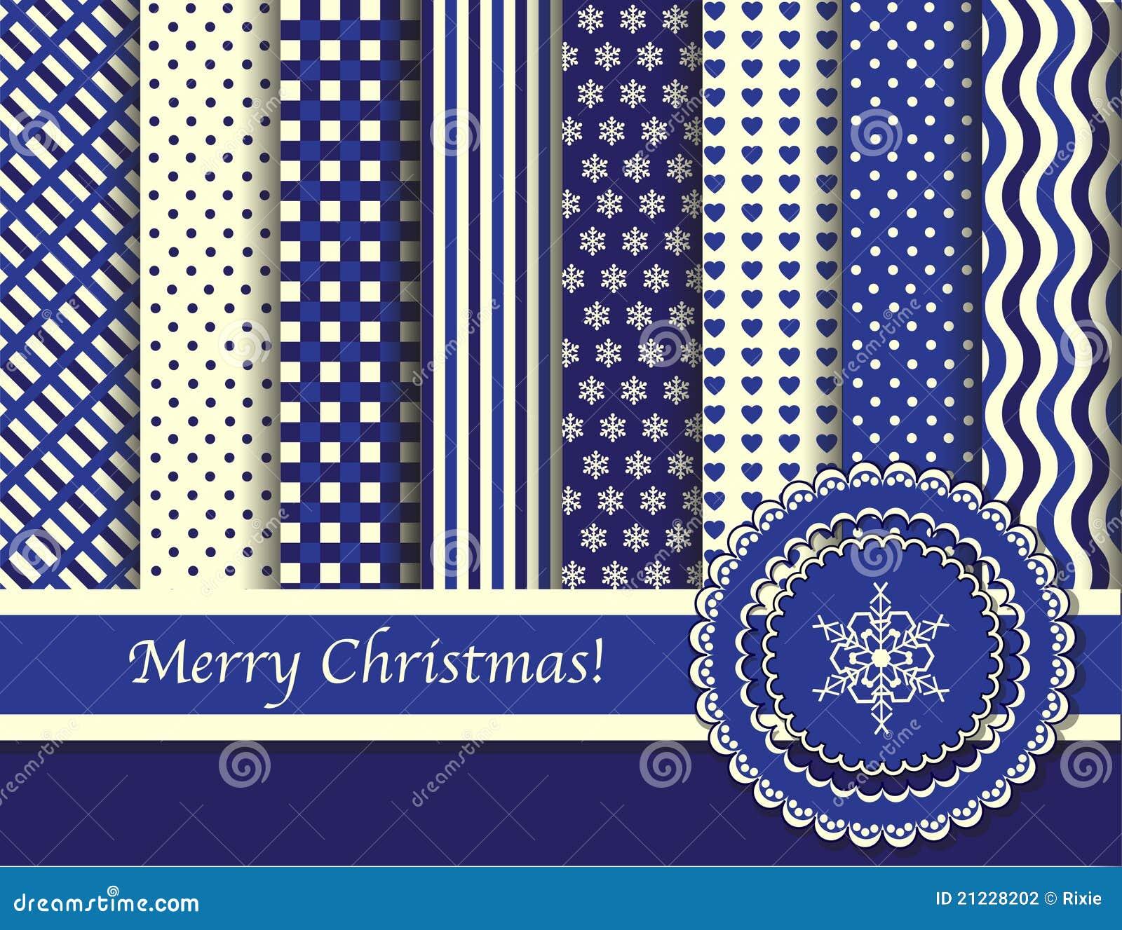 Blue Christmas Scrapbook Paper Christmas scrapbooking blue