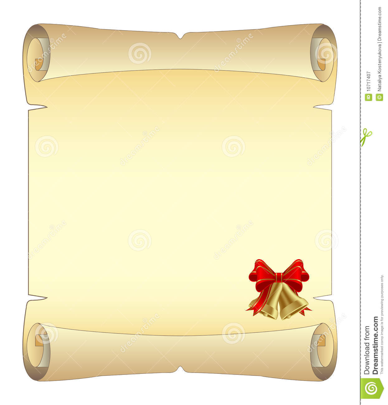 free christmas scroll images