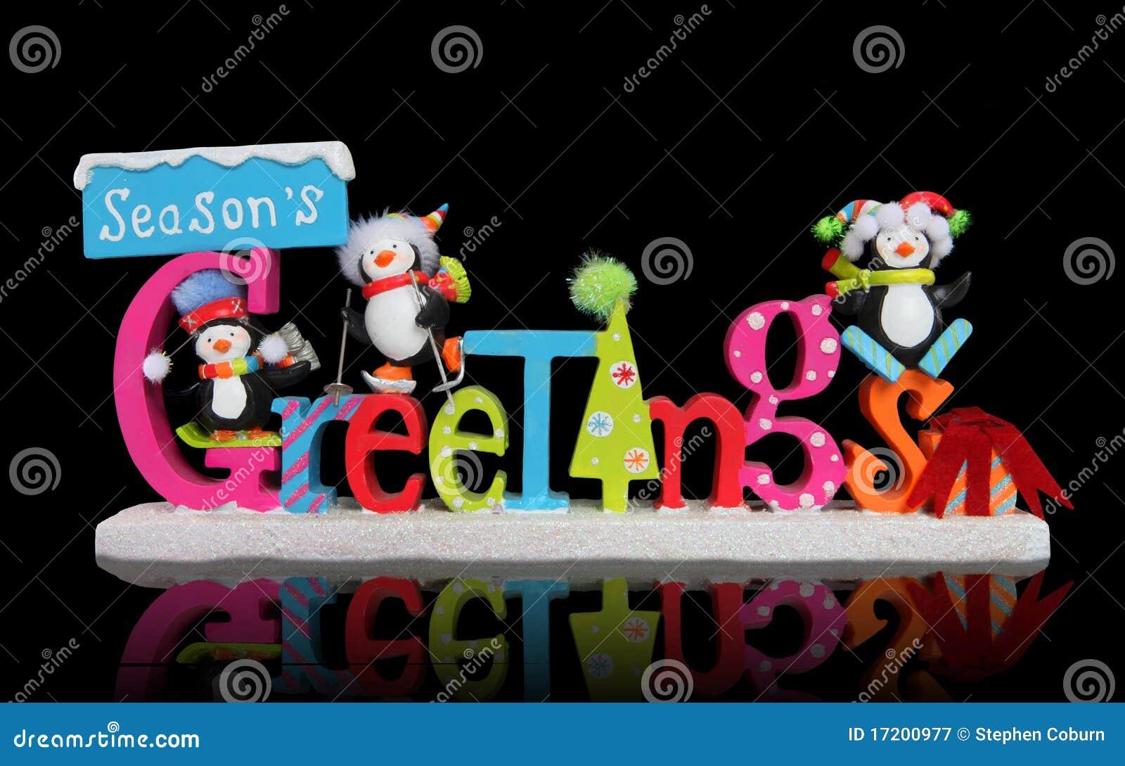 Christmas seasons greeting sign stock image image of holiday christmas season s greeting sign kristyandbryce Image collections