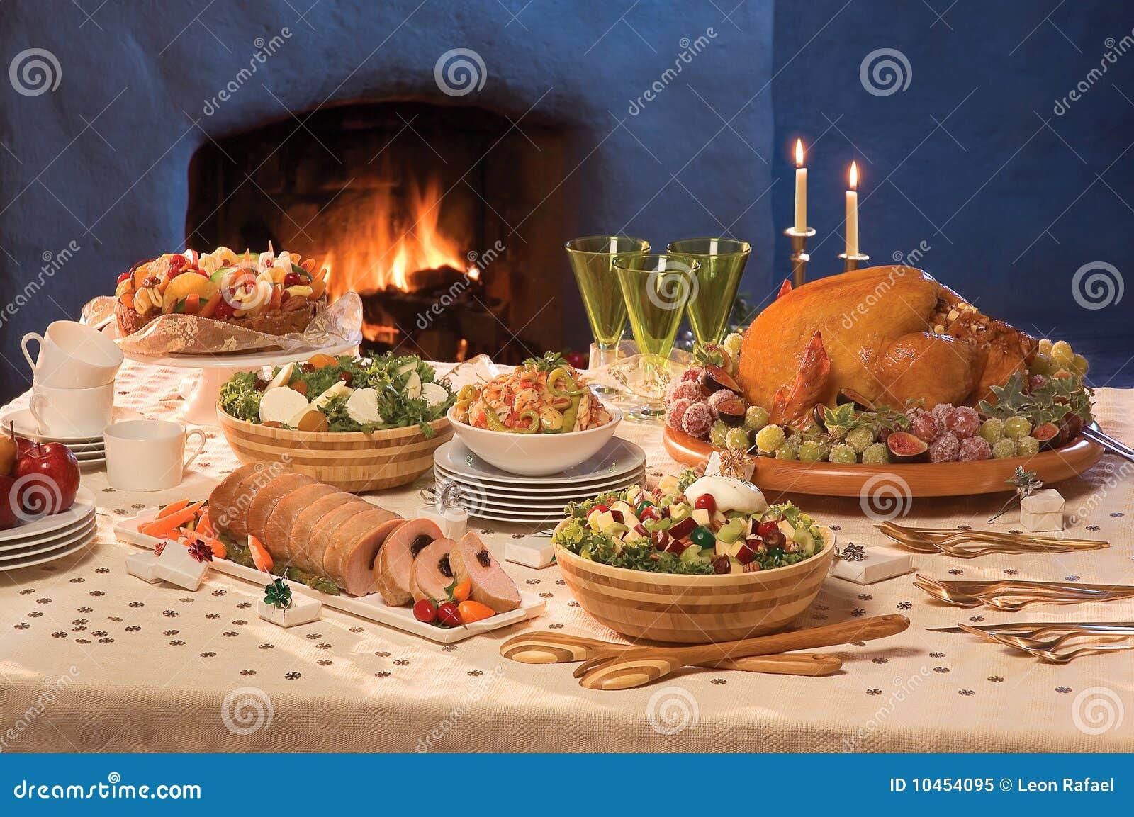 Christmas Served Table