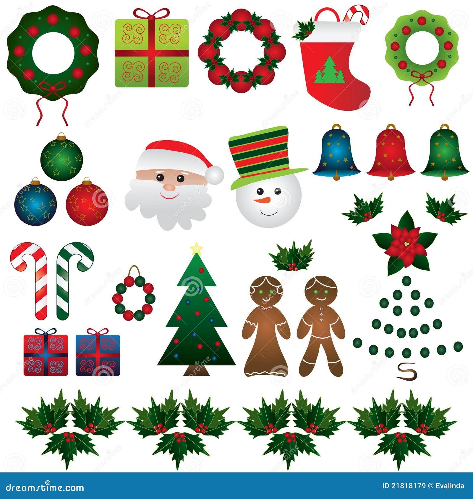 Christmas Set.Christmas Set Stock Vector Illustration Of Artistic 21818179