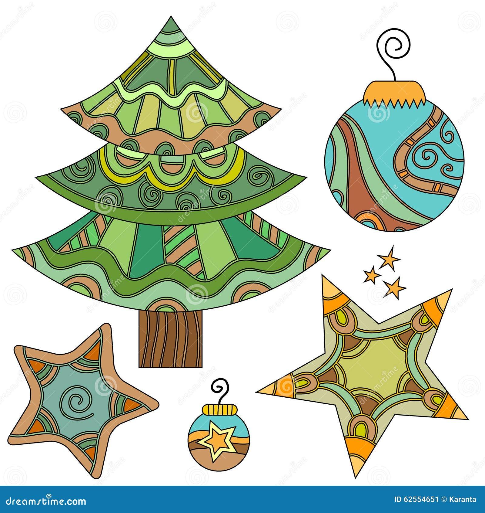 whimsical christmas tree clip art free - photo #14