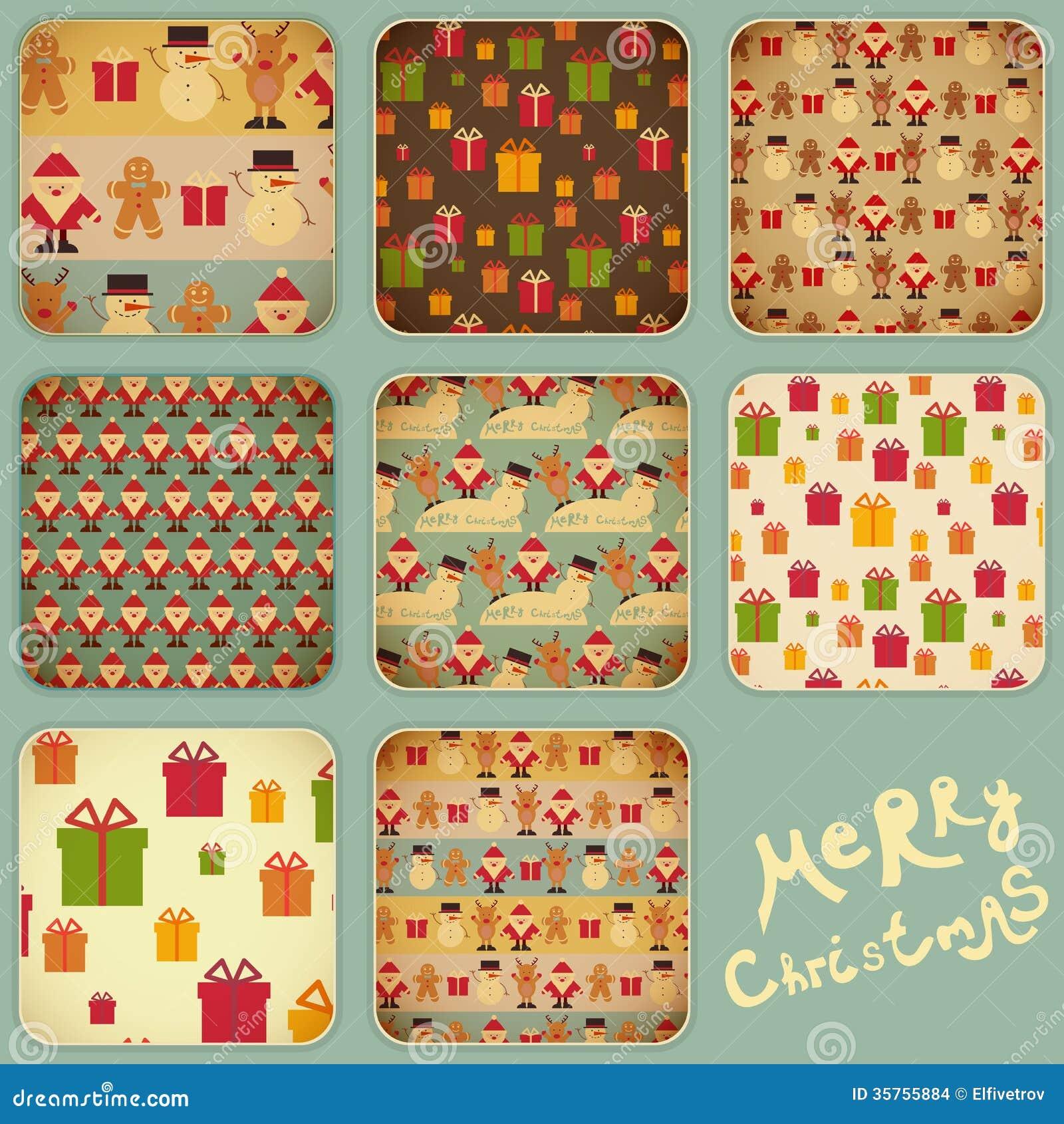 Christmas Set Stock Vector. Illustration Of Design