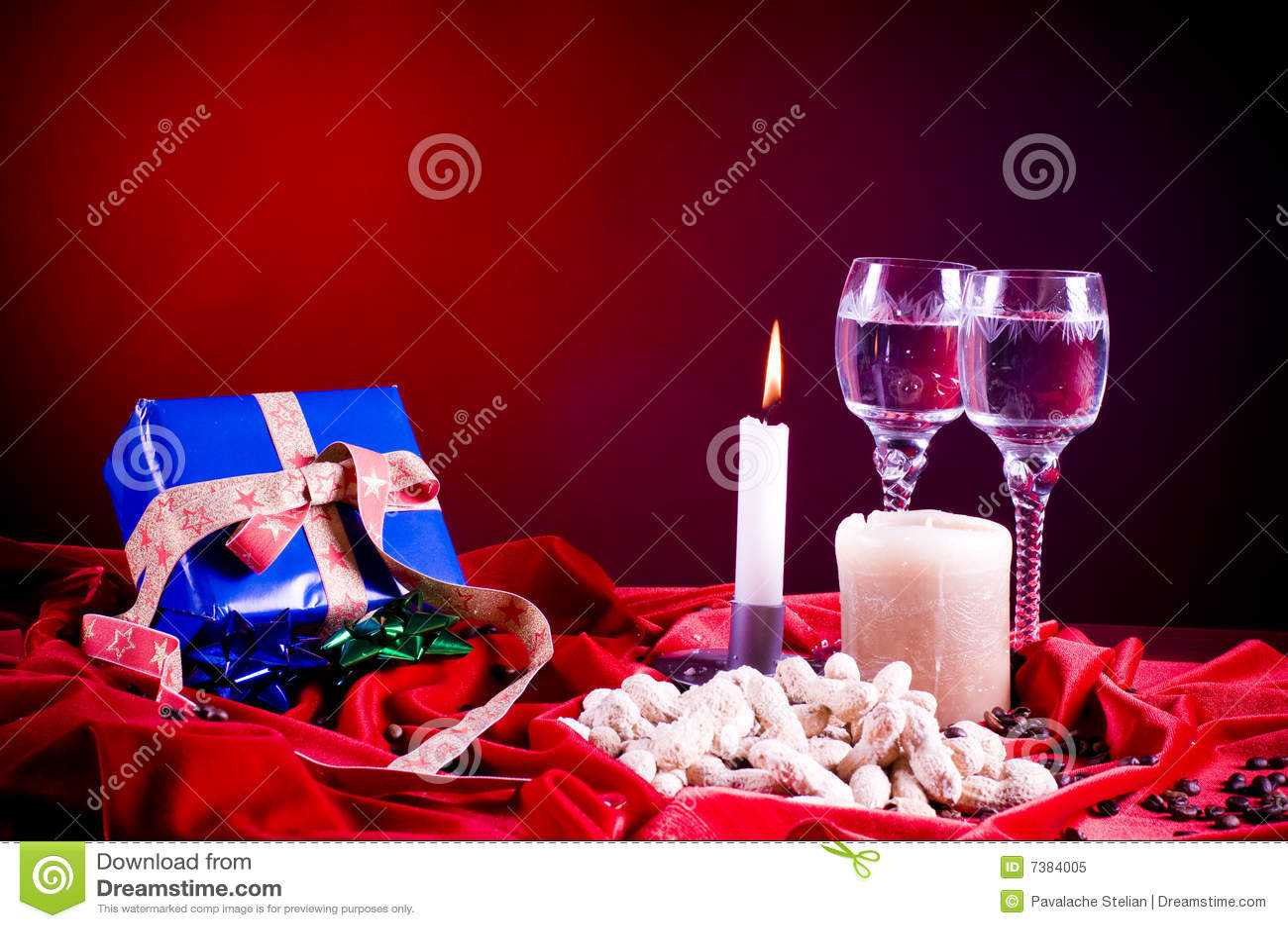 Christmas Setting Royalty Free Stock Photo Image 7384005