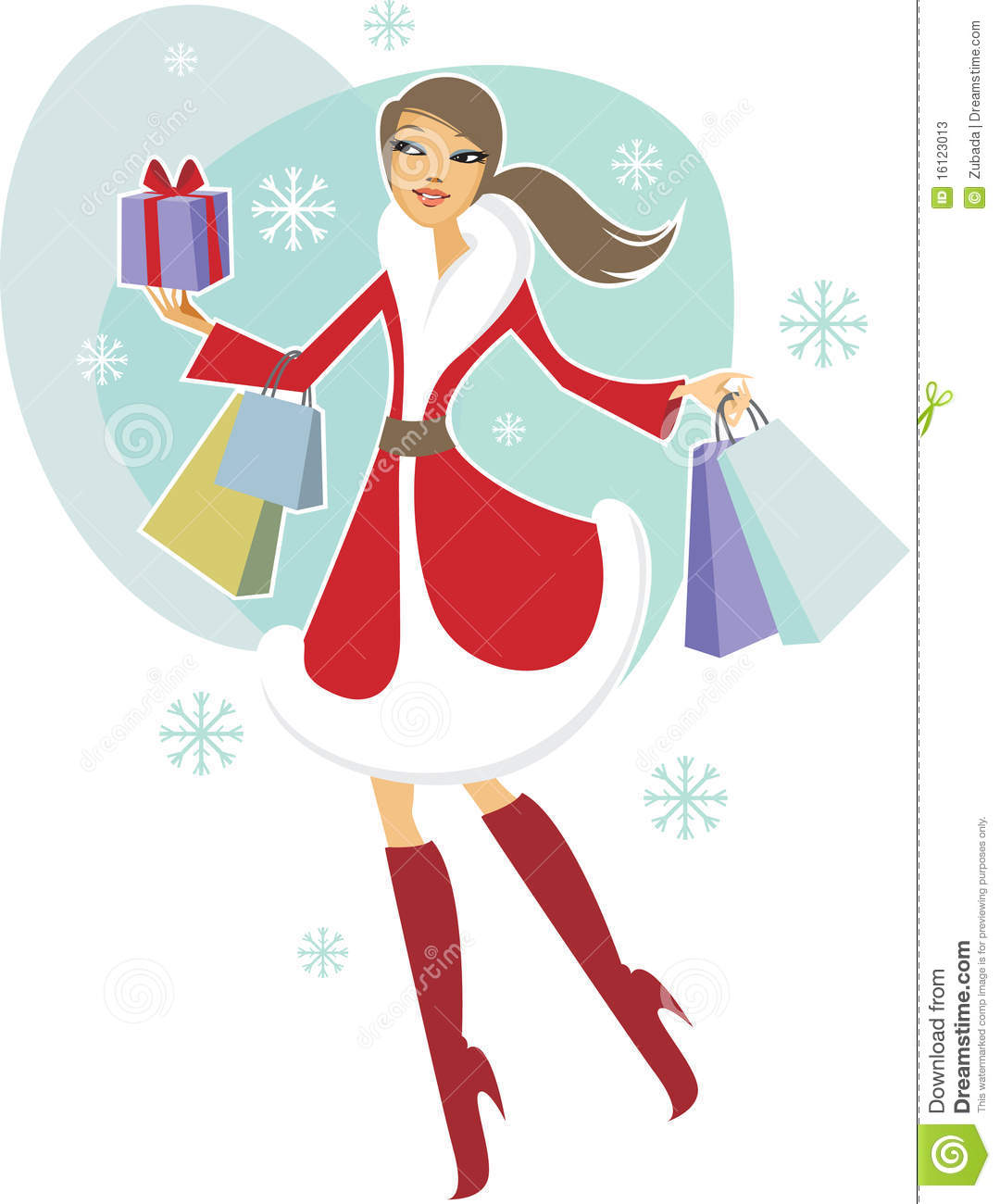 Christmas Shopping Stock Photos - Image: 16123013