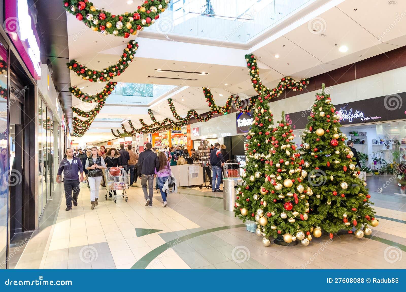Christmas Shopping Editorial Stock Photo - Image: 27608088