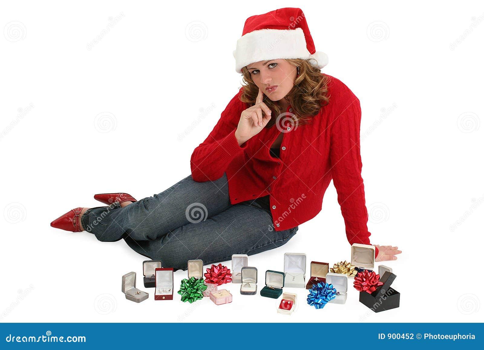 Christmas Shopping Stock Photography Image 900452