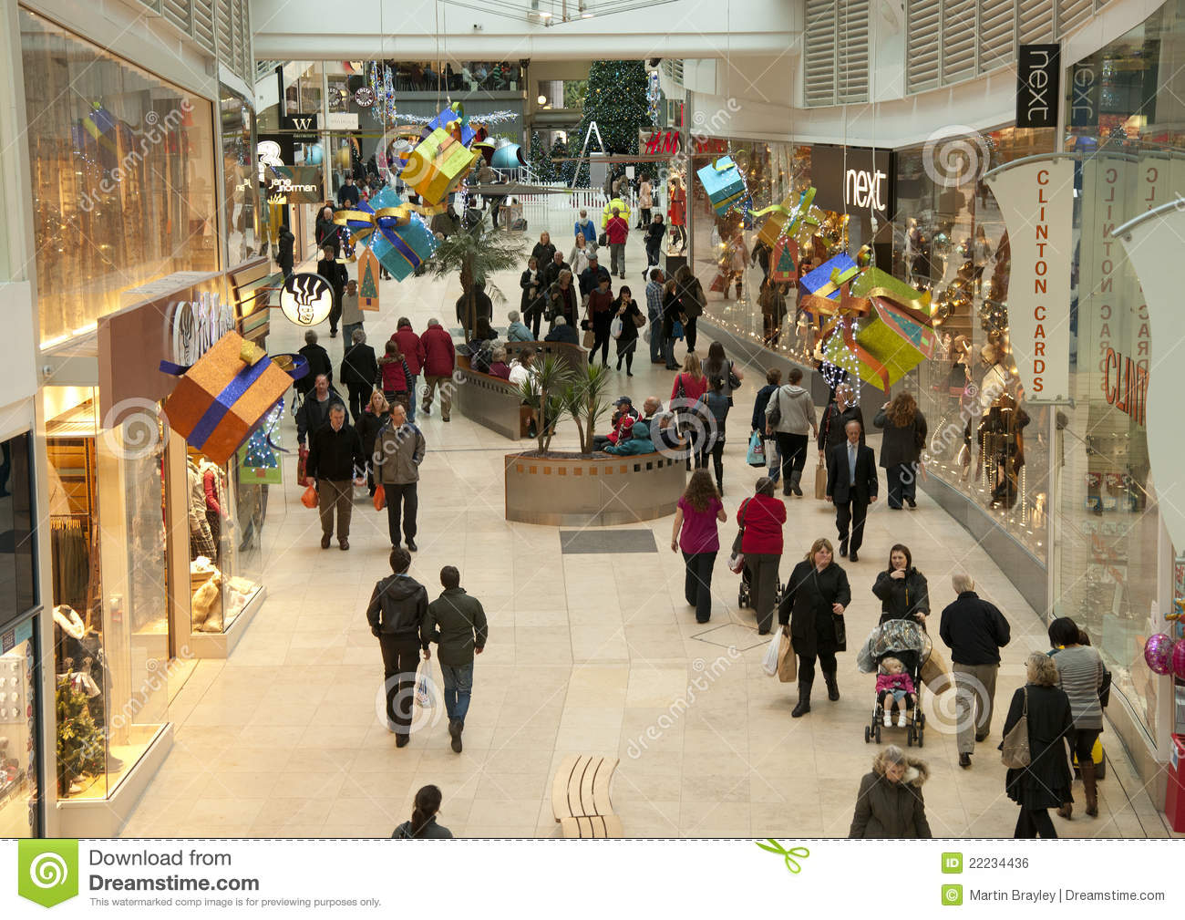 Christmas shopping in the mall editorial photo image for Best places for christmas shopping