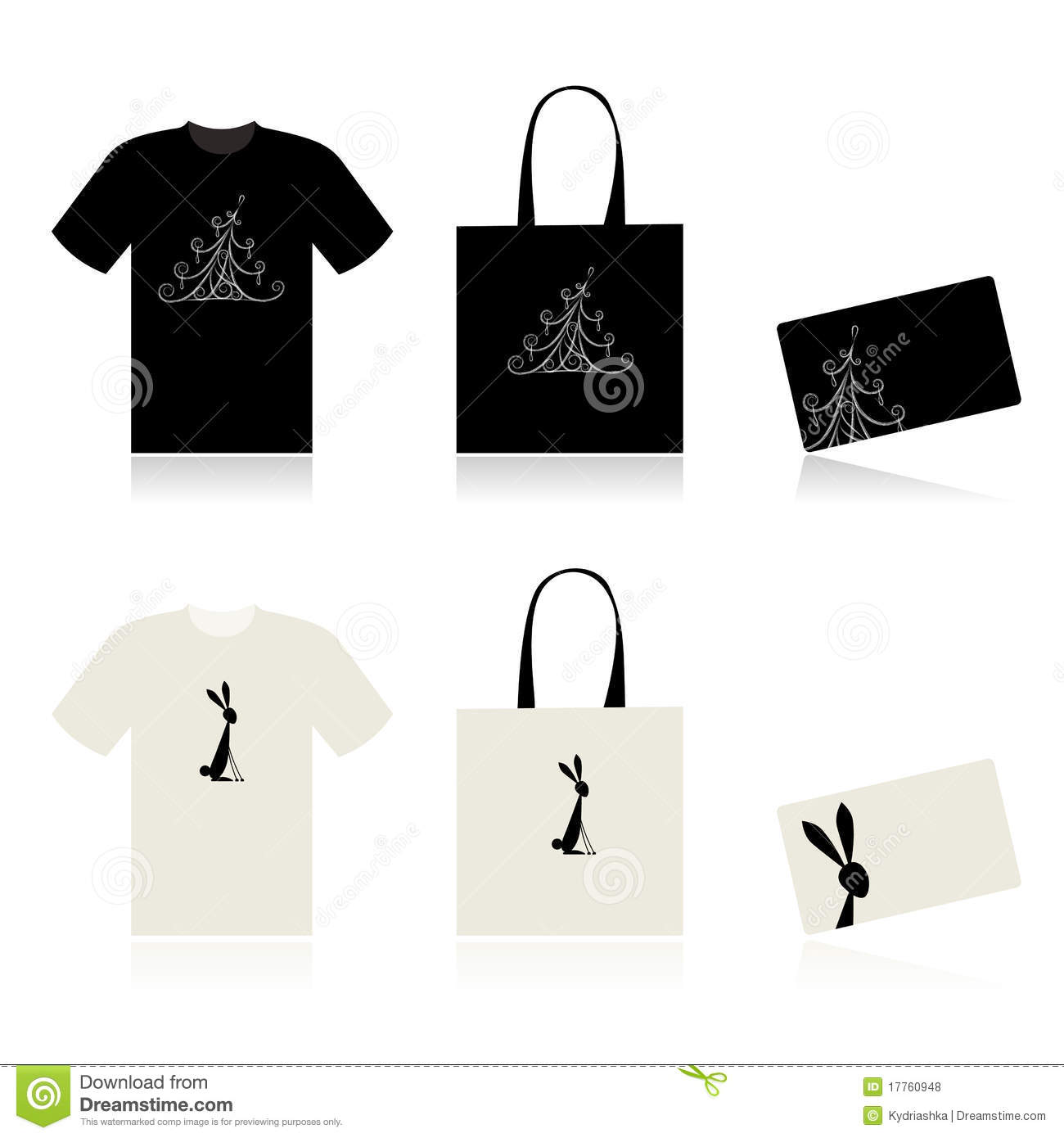 Christmas shopping t shirt bag and payment card royalty for Holiday t shirt bags