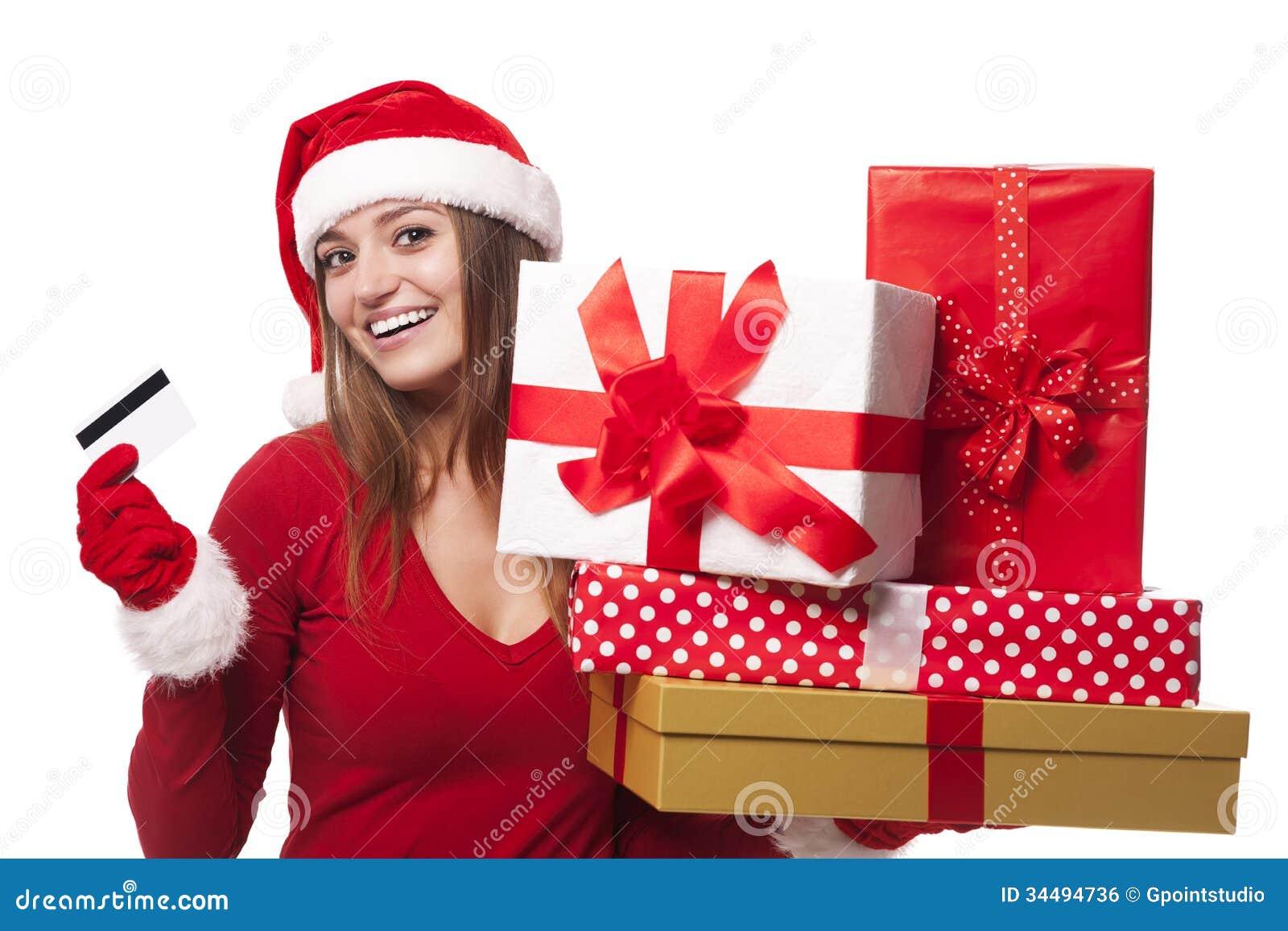 Christmas Shopping Royalty Free Stock Image Image 34494736
