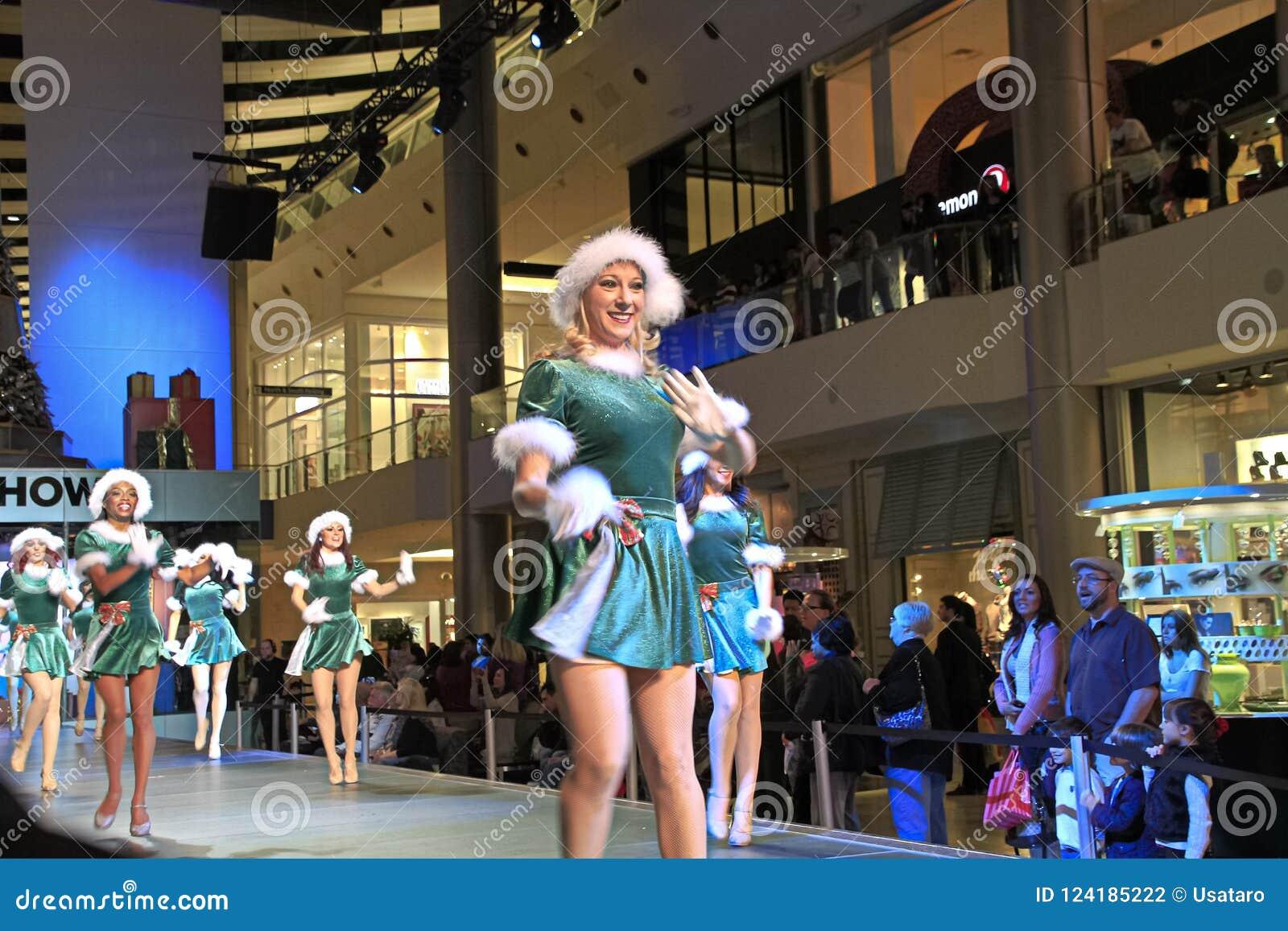Christmas Show Dancer Editorial Photography Image Of Fashion 124185222