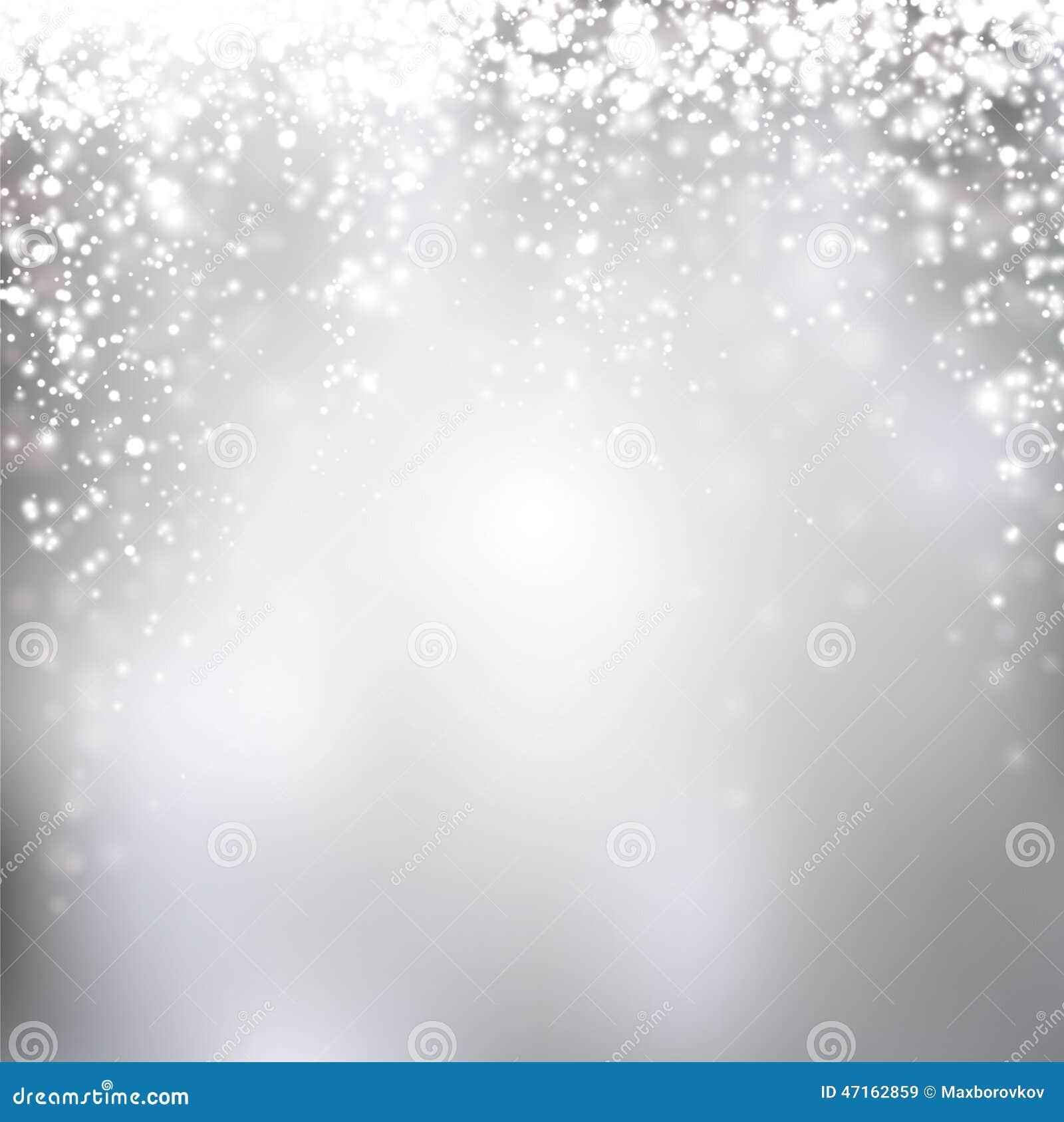 Silver Christmas Lights