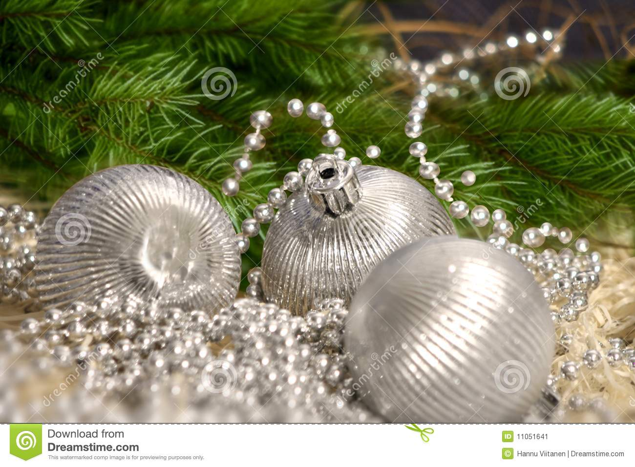 download christmas silver balls with pearls stock image image of christmas gold 11051641 - The Christmas Pearl