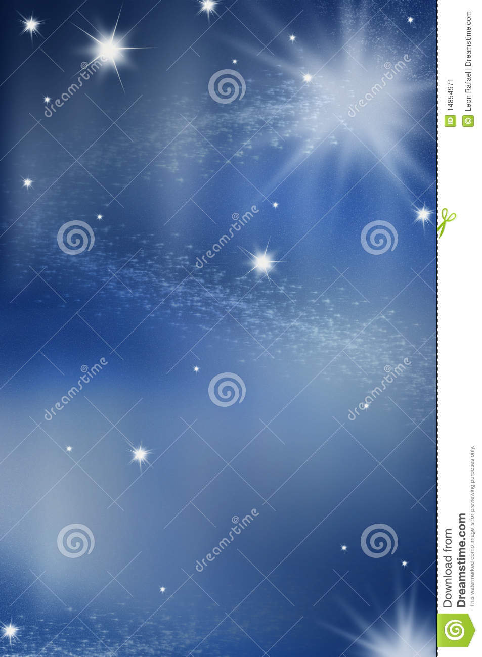 Christmas Sky With North Star Stock Image - Image of stars, xmas ...