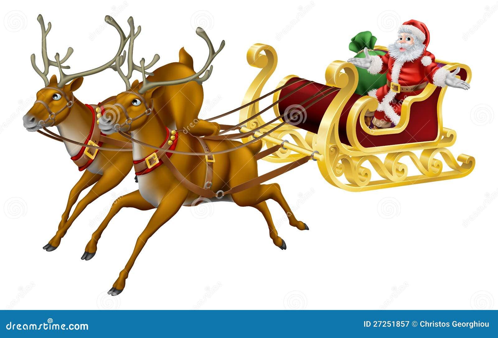Christmas Sled Royalty Free Stock Photography - Image ...