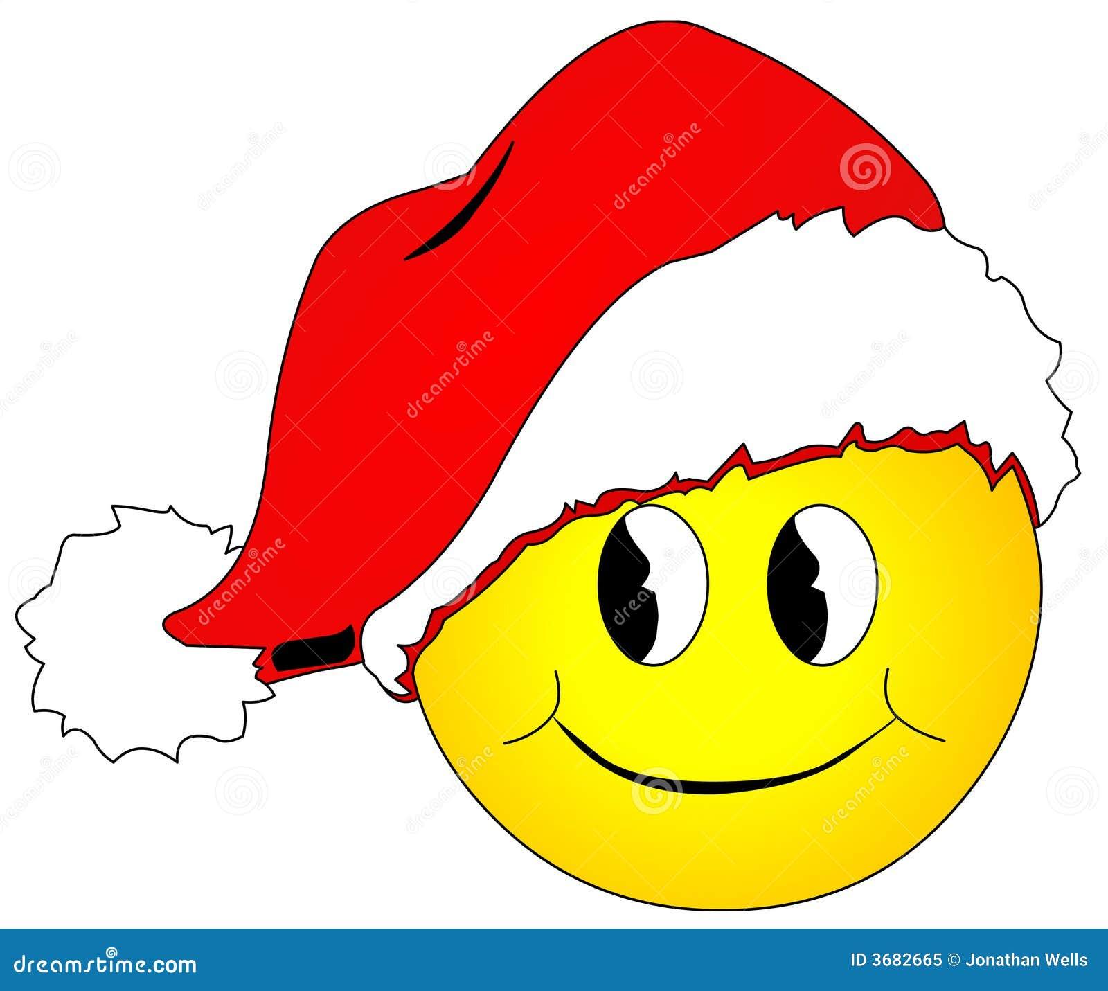 Christmas Smiley Royalty Free Stock Photo - Image: 3682665