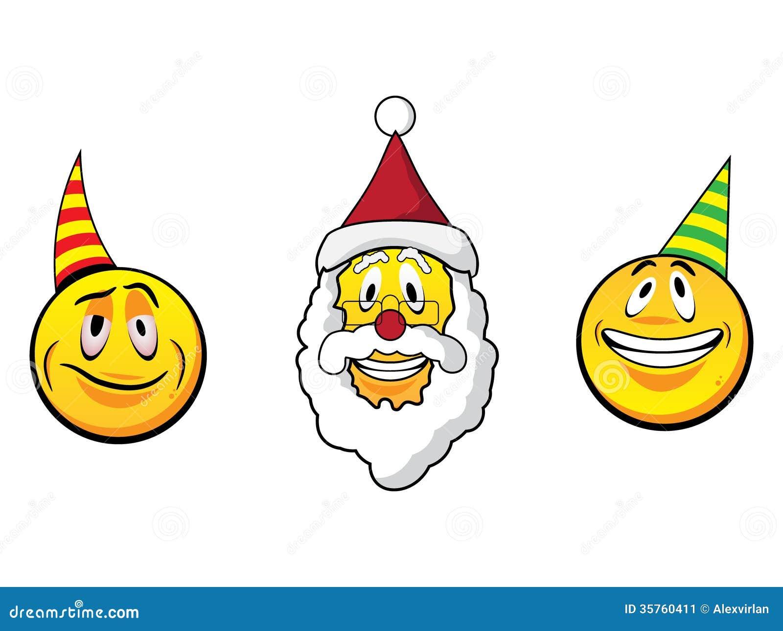 clip art christmas smiley face - photo #7