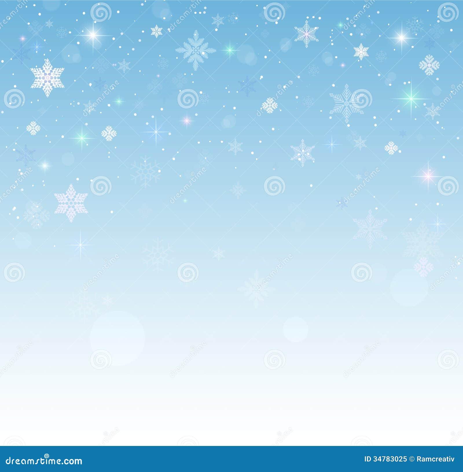 Falling Snow Wallpaper
