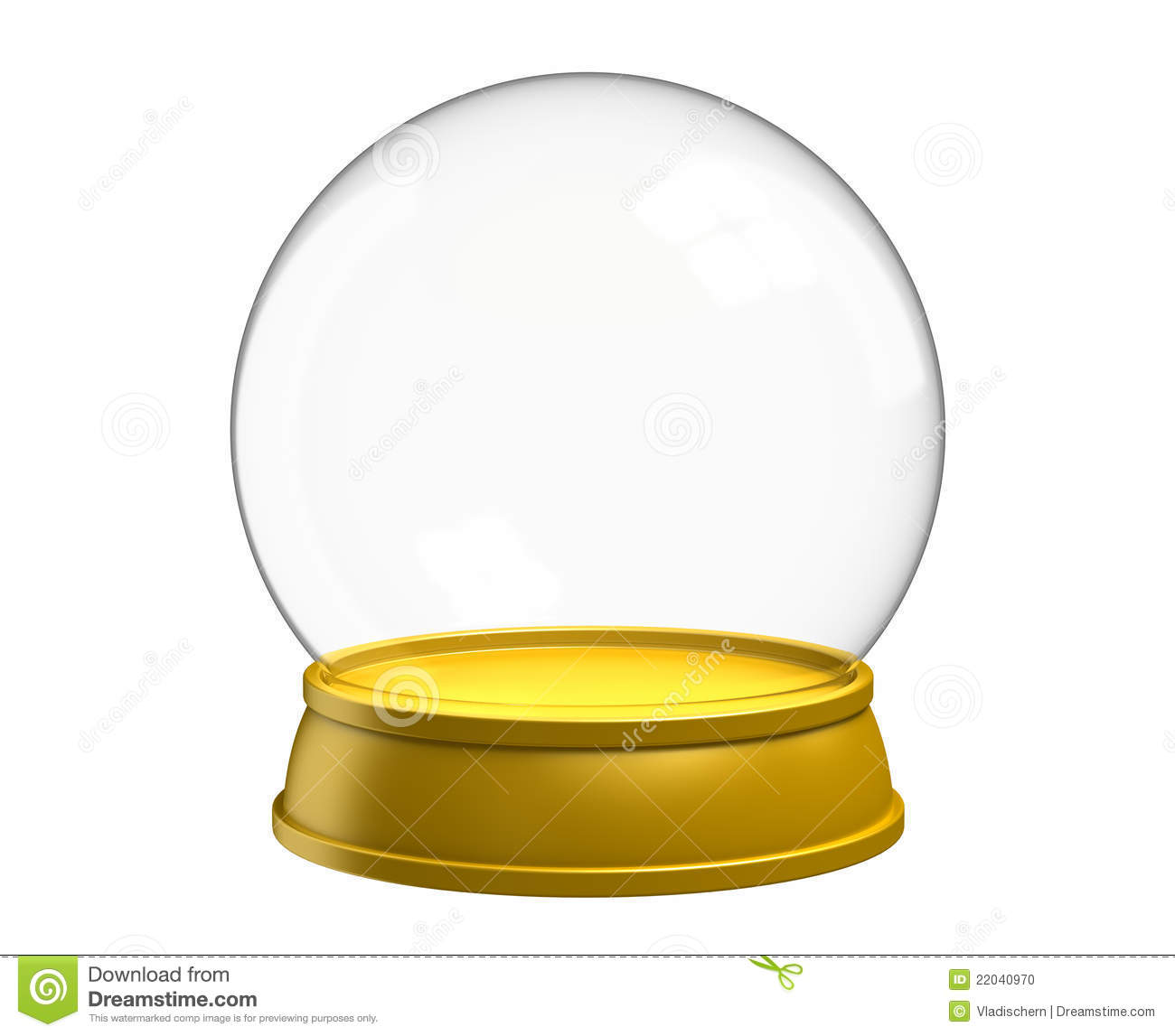 Christmas Snow Globe Stock Photo Image 22040970