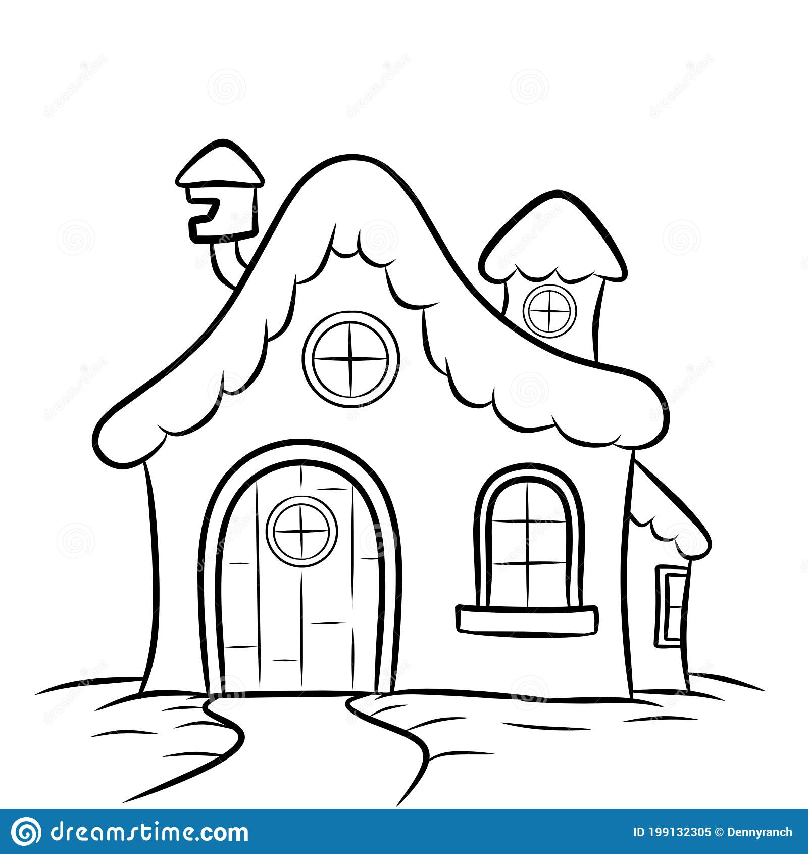 House Coloring Pages Stock Illustrations 310 House Coloring Pages Stock Illustrations Vectors Clipart Dreamstime