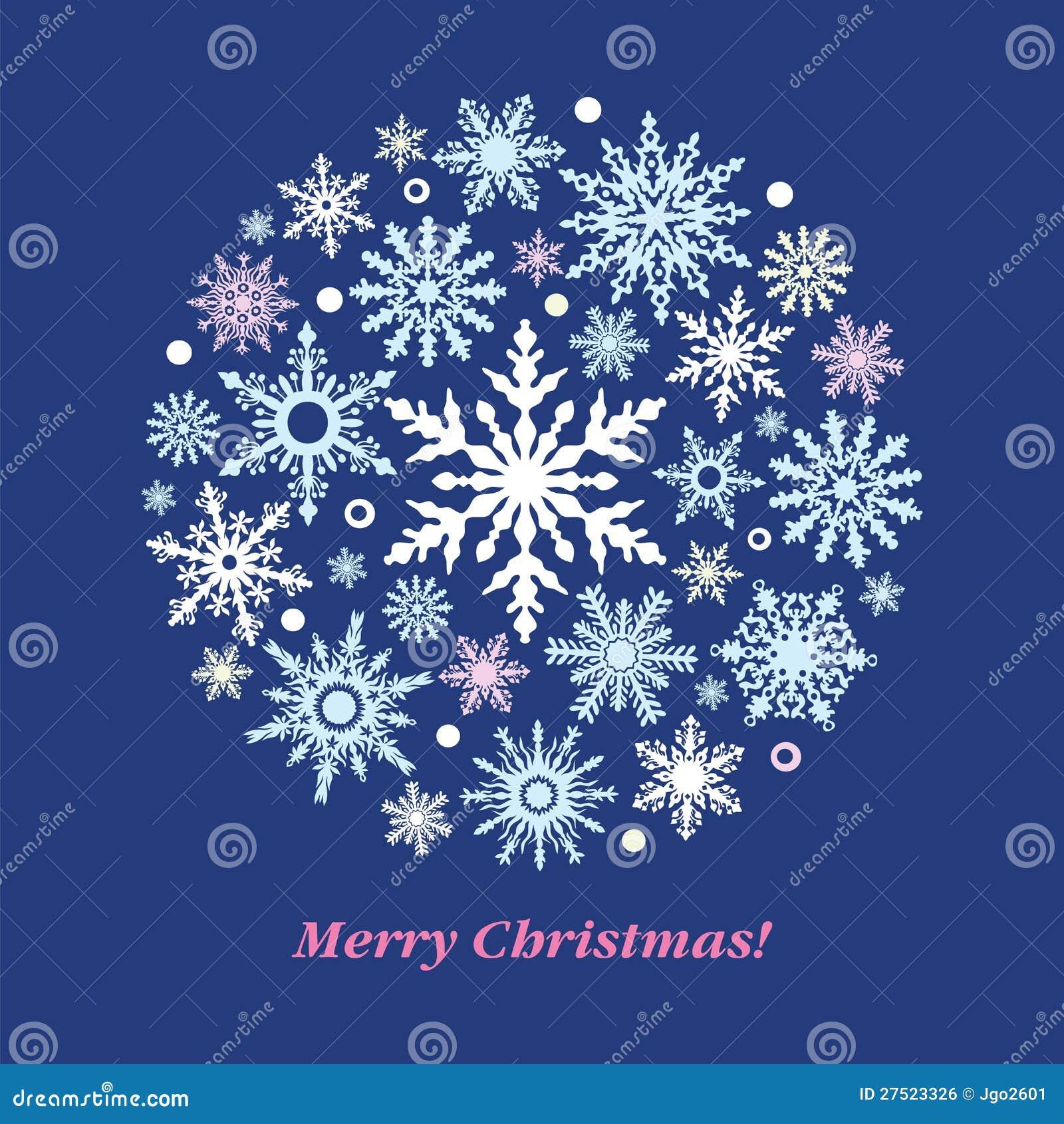 Christmas snowflake ball stock vector image of