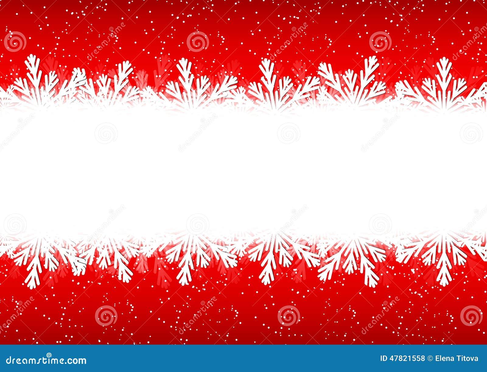 christmas snowflakes border - photo #26