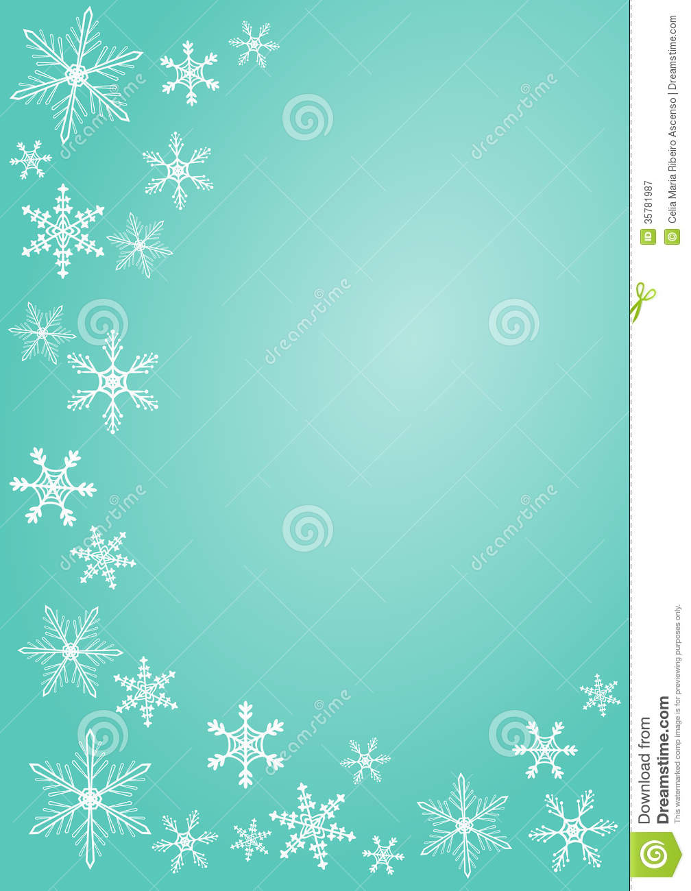 Christmas Snowflake Greeting Card Royalty Free Stock Photography ...