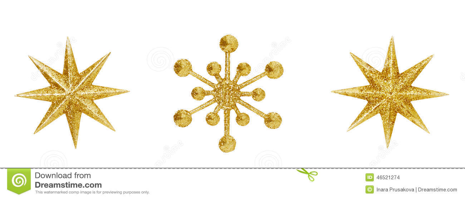 Christmas Snowflake Star Hanging Decoration Xmas Toys