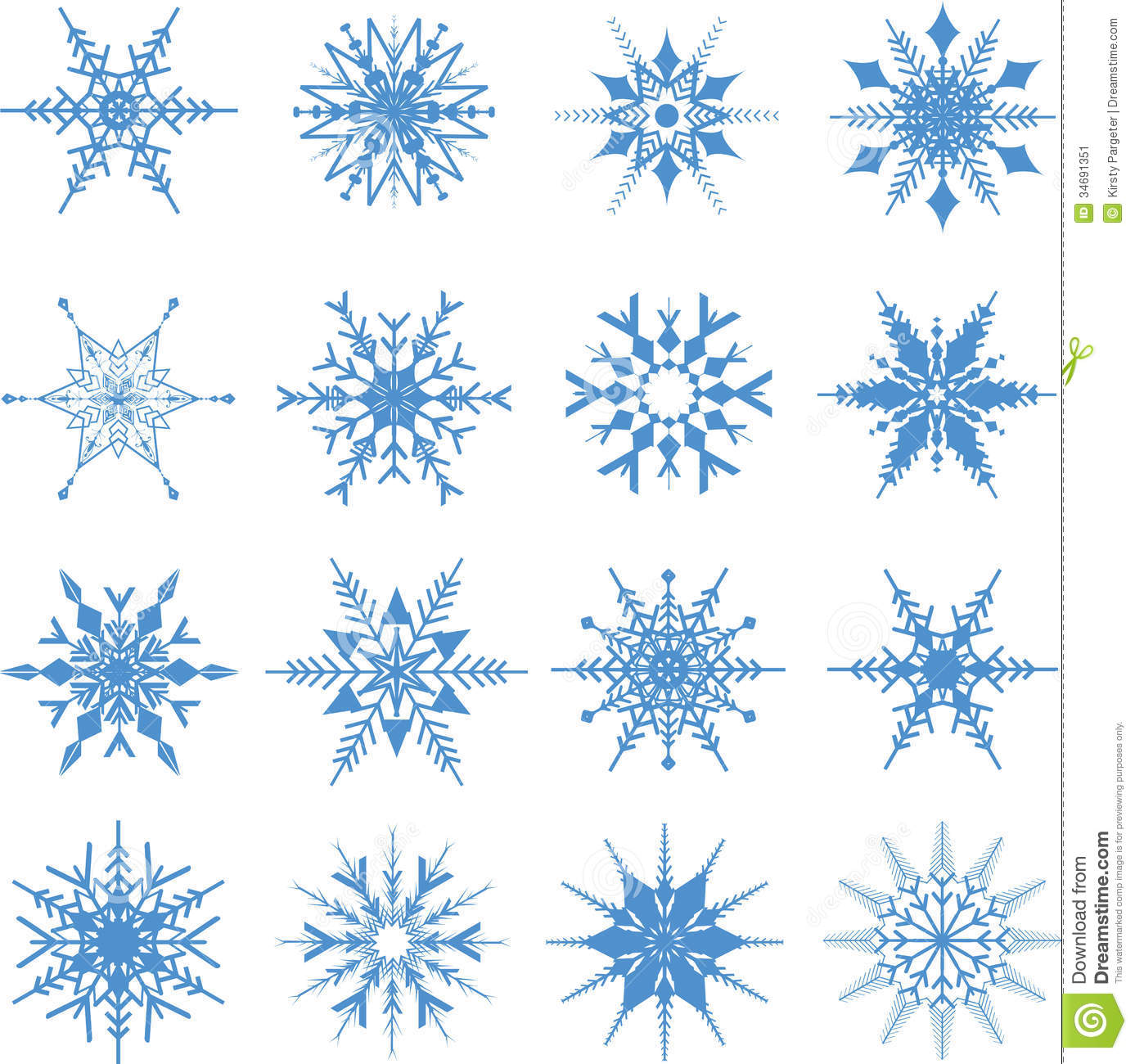 christmas snowflakes background stock vector illustration of eps10