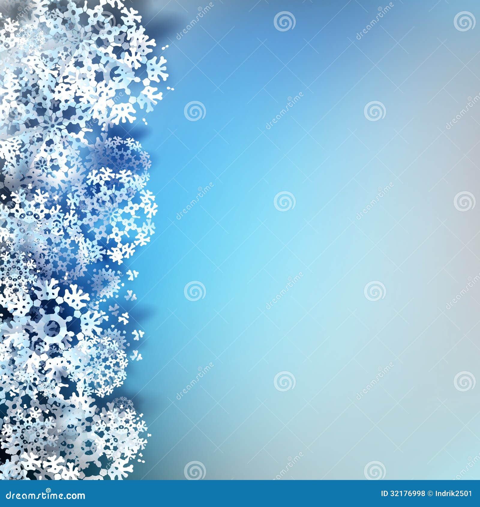 Christmas snowflakes background eps 10 royalty free stock photos