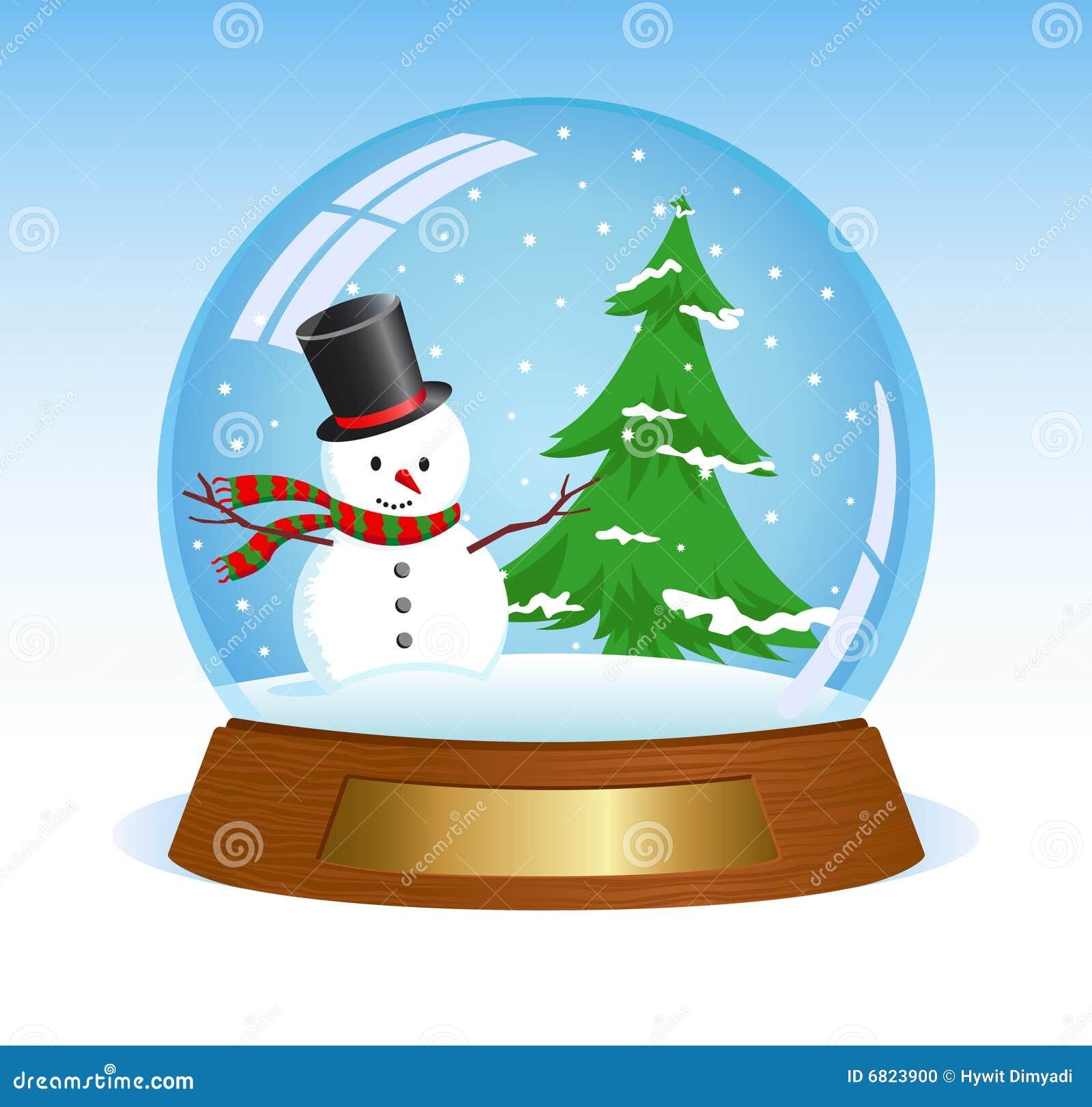 free clipart snow globe - photo #32