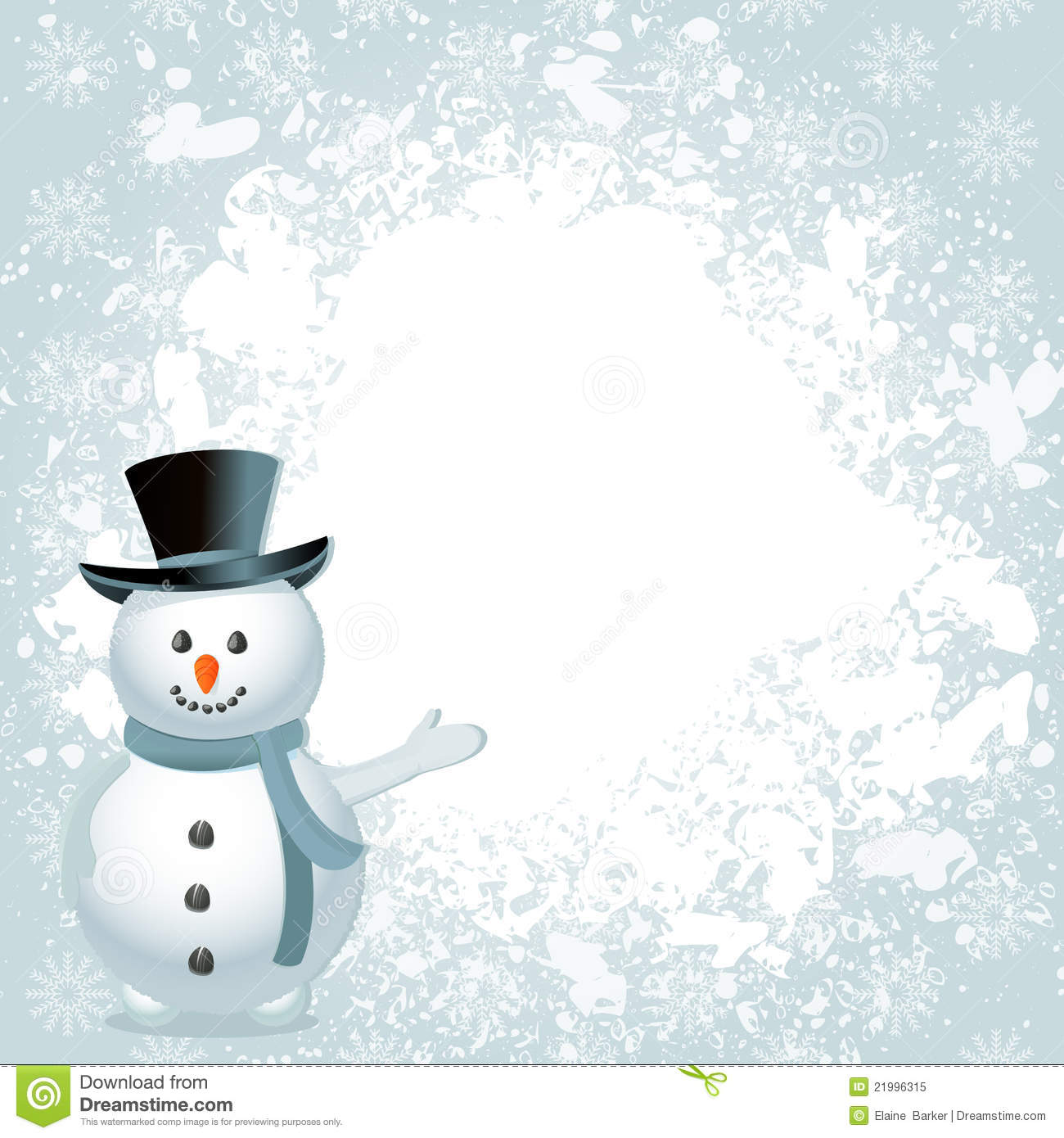 Christmas snowman background royalty free stock photo image