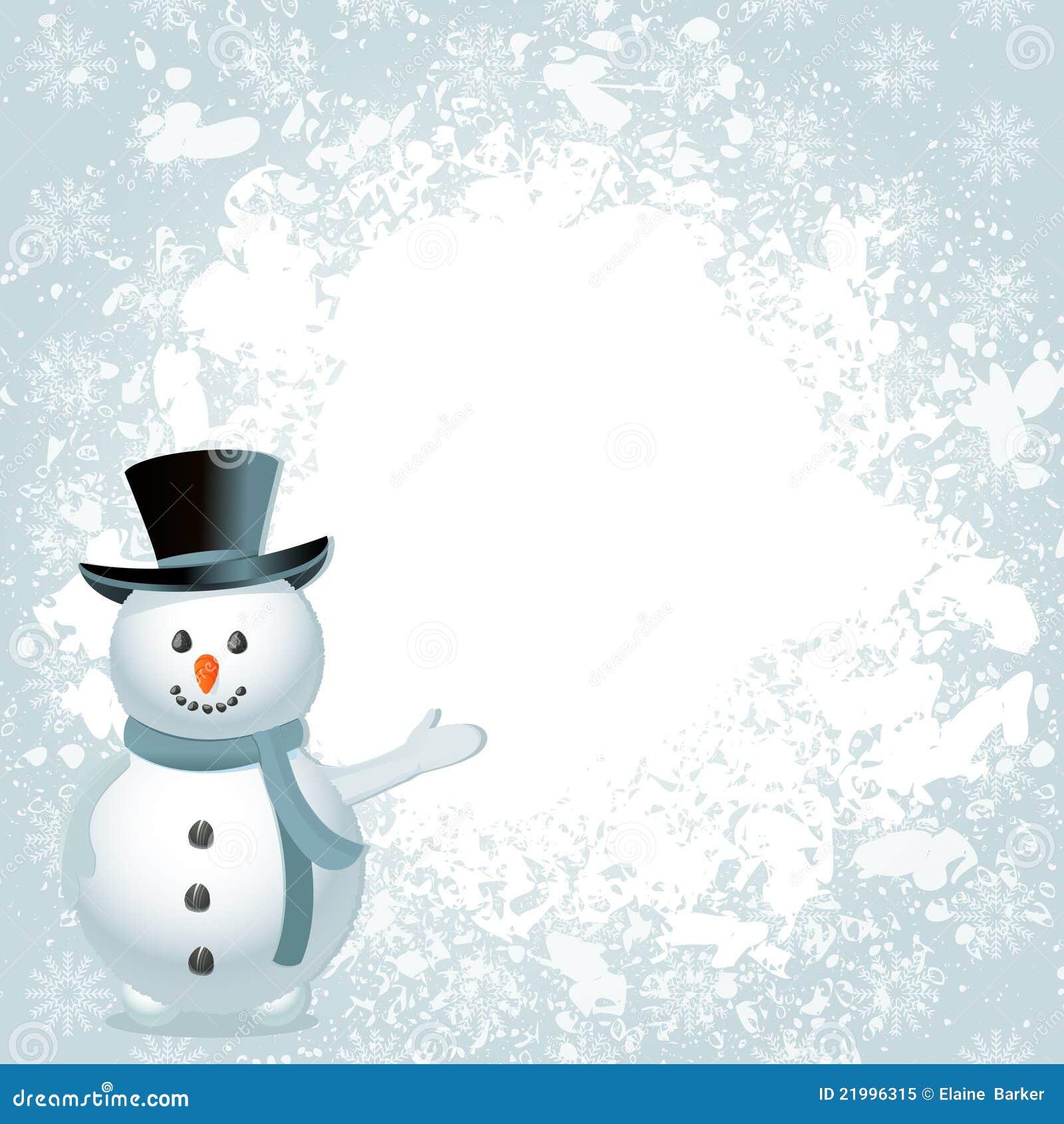 christmas snowman background 21996315