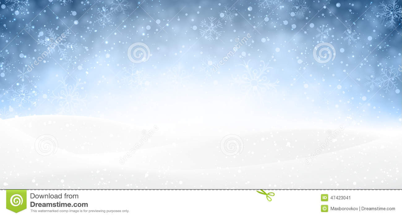 Christmas snowy banner. stock vector. Image of copyspace ...