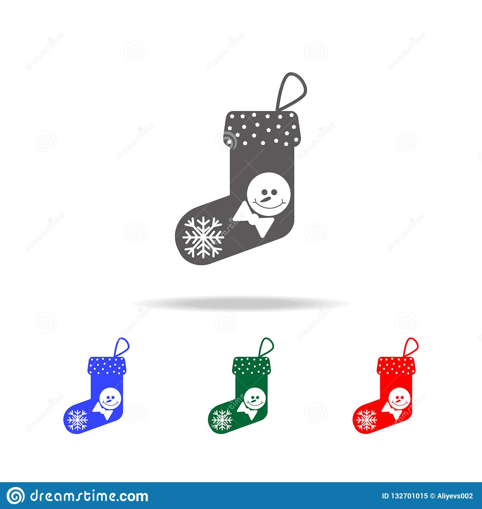 Christmas Holidays Icon.Christmas Socks Icon Elements Of Christmas Holidays In