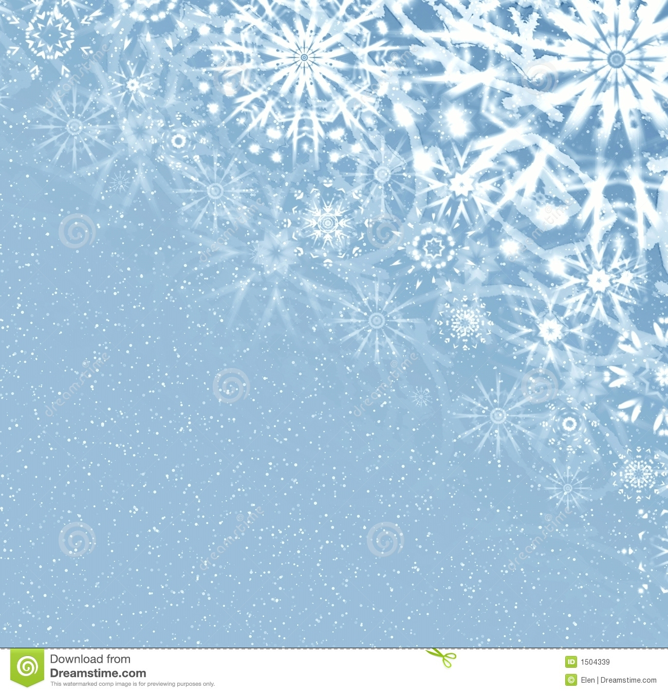 White merry christmas snowflake background graphics free