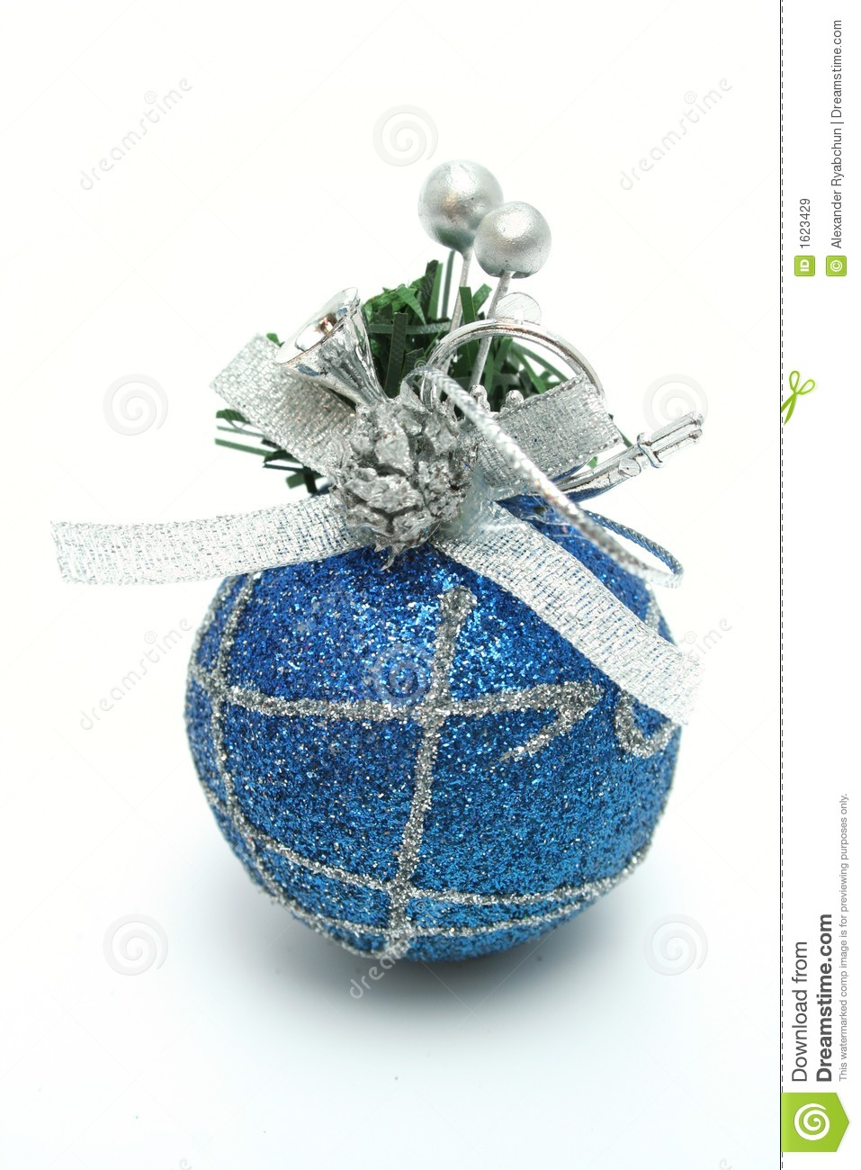 Christmas sphere of dark blue color with a pattern royalty - Is blue a christmas color ...