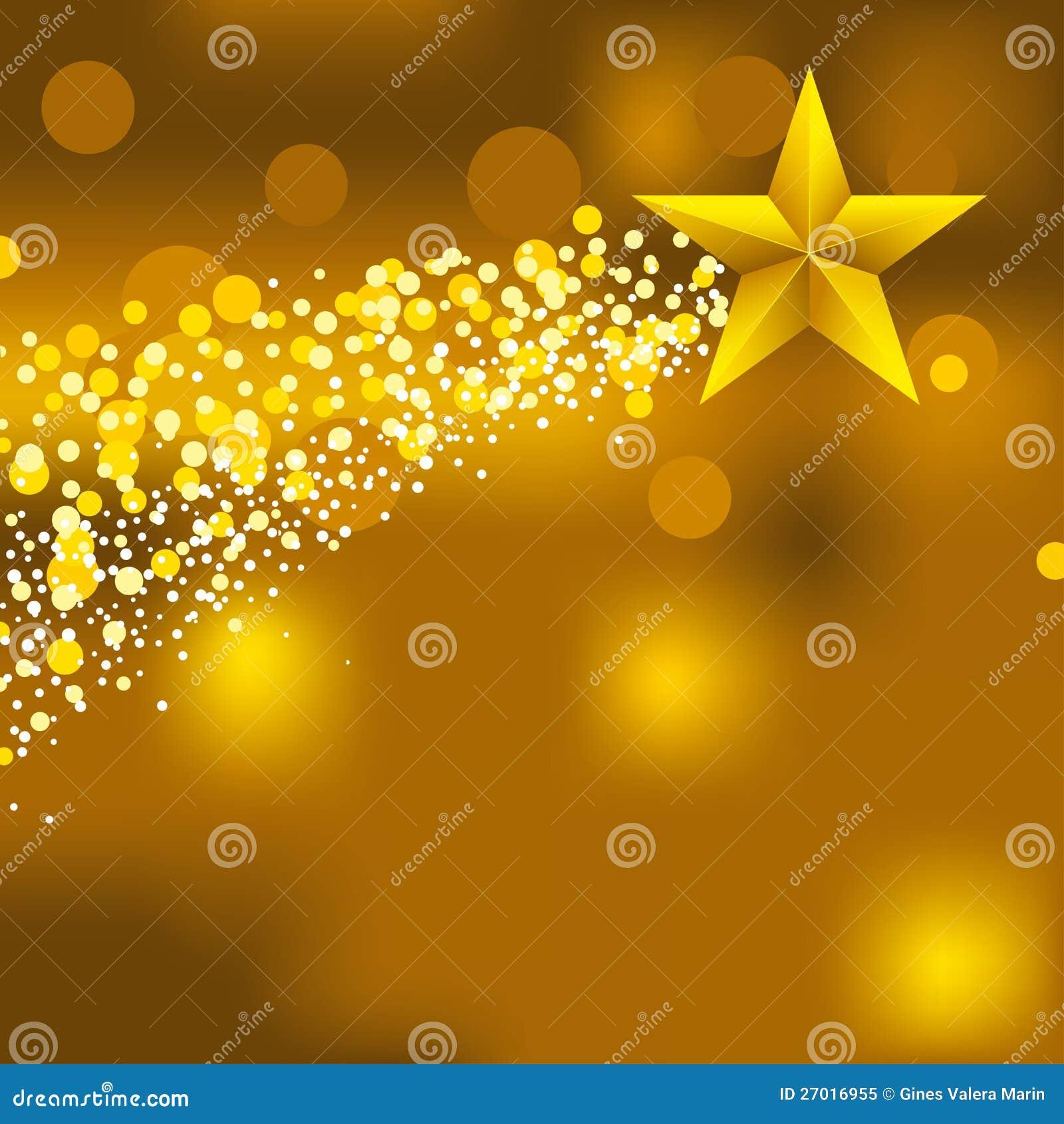 Christmas Star Background Royalty Free Stock Photo - Image: 27016955