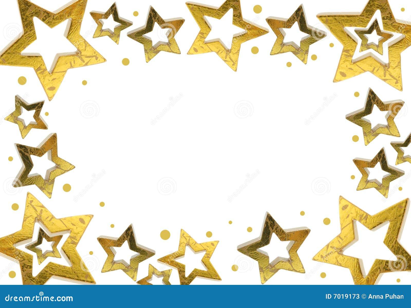 Christmas Star Frame Stock Photos - Image: 7019173
