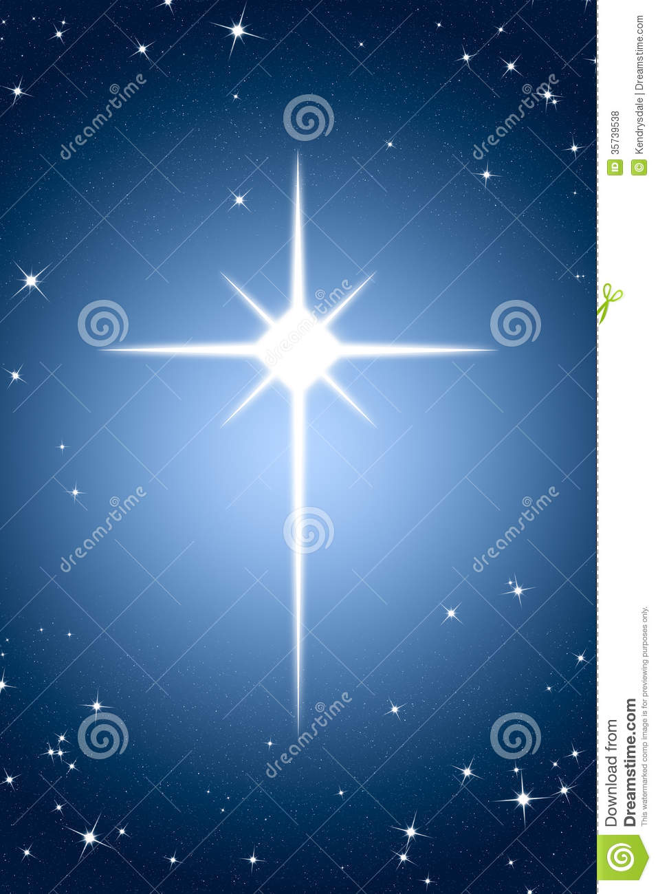 Christmas star. Christian religious symbol of the birth of Jesus ...