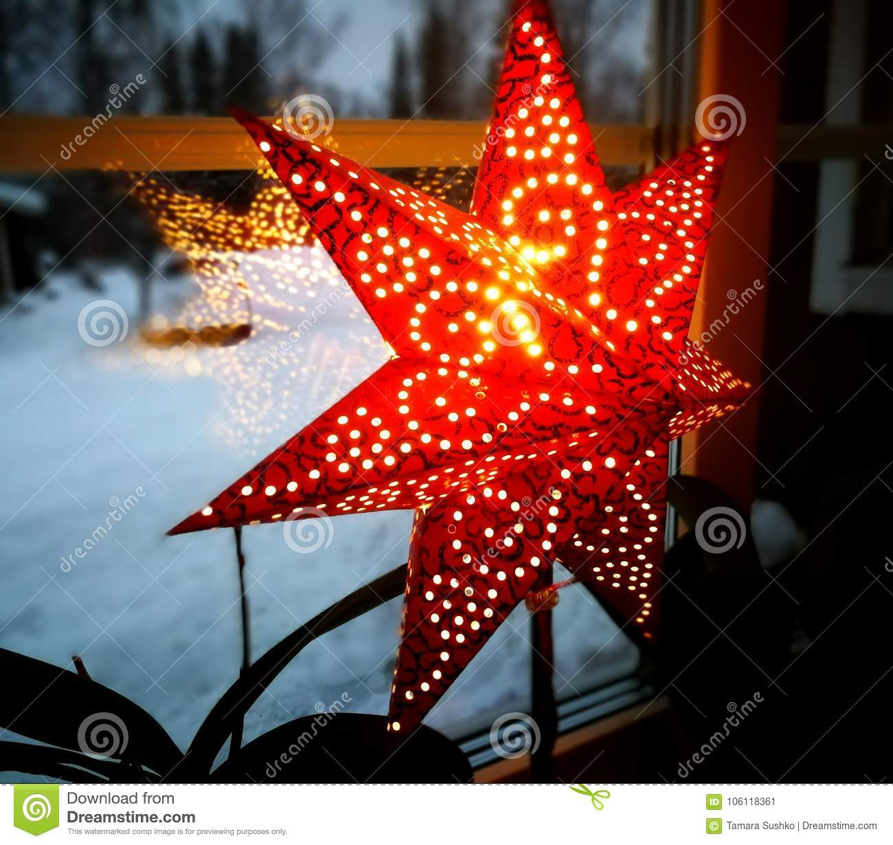 christmas star traditional swedish windows decoration - Traditional Swedish Christmas Decorations