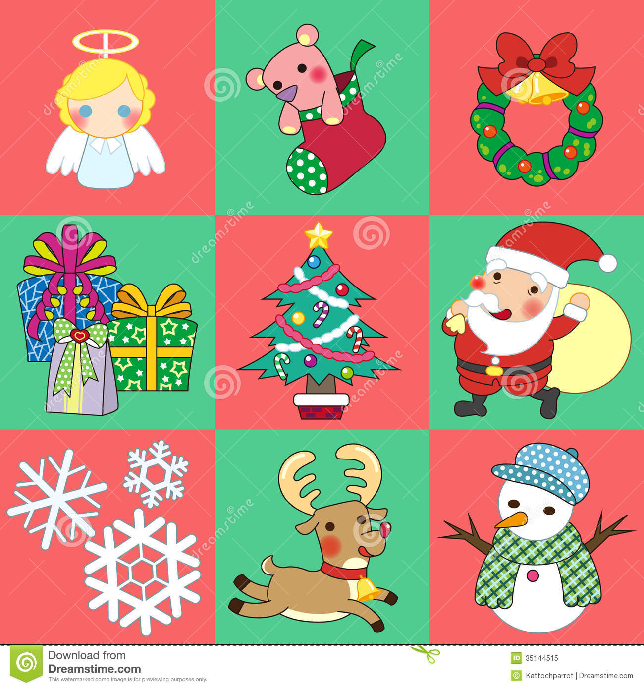 Free Vector Illustration Juniper: Christmas Stock Vector. Image Of Greeting, Claus