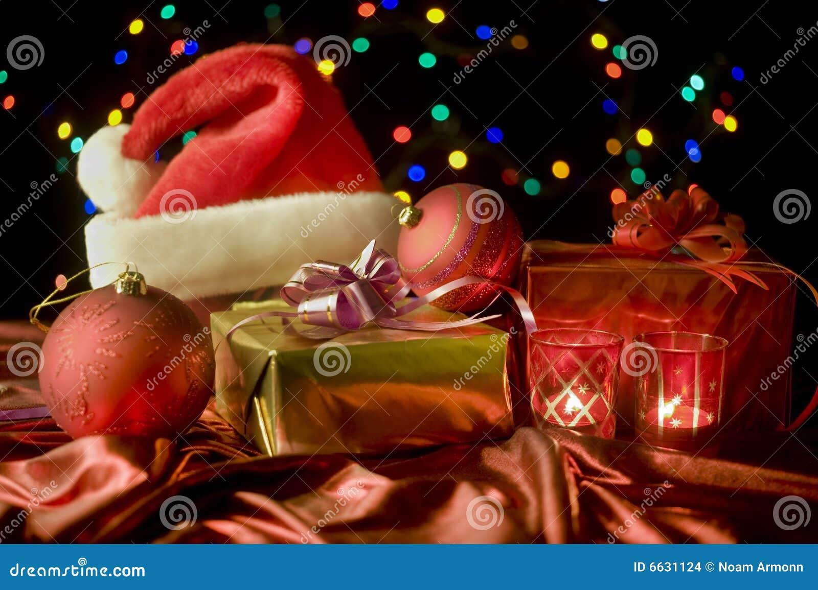 Christmas still life stock photo image of