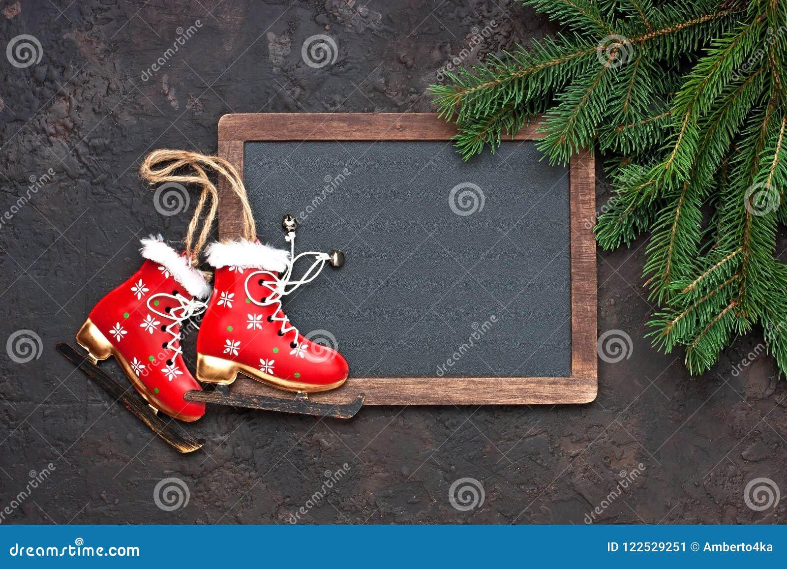 Christmas Still Life With Bright Symbols Stock Image Image Of