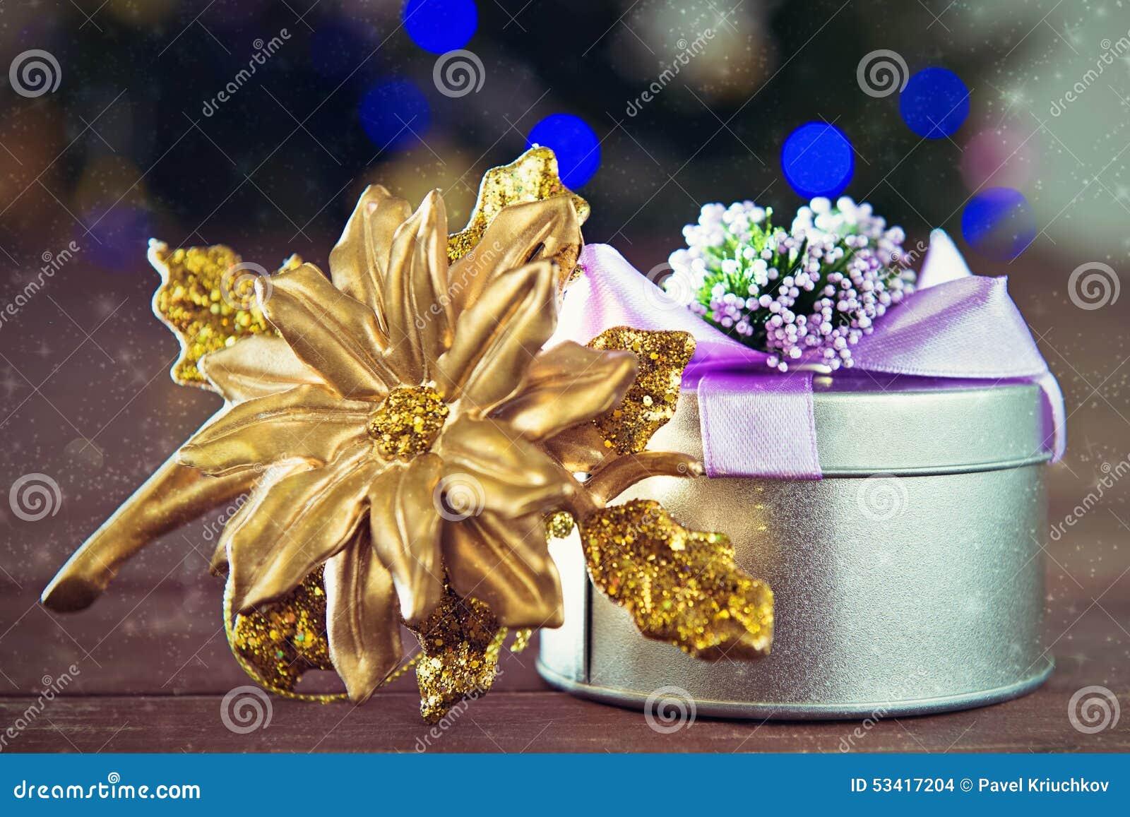 Christmas still life stock photo image
